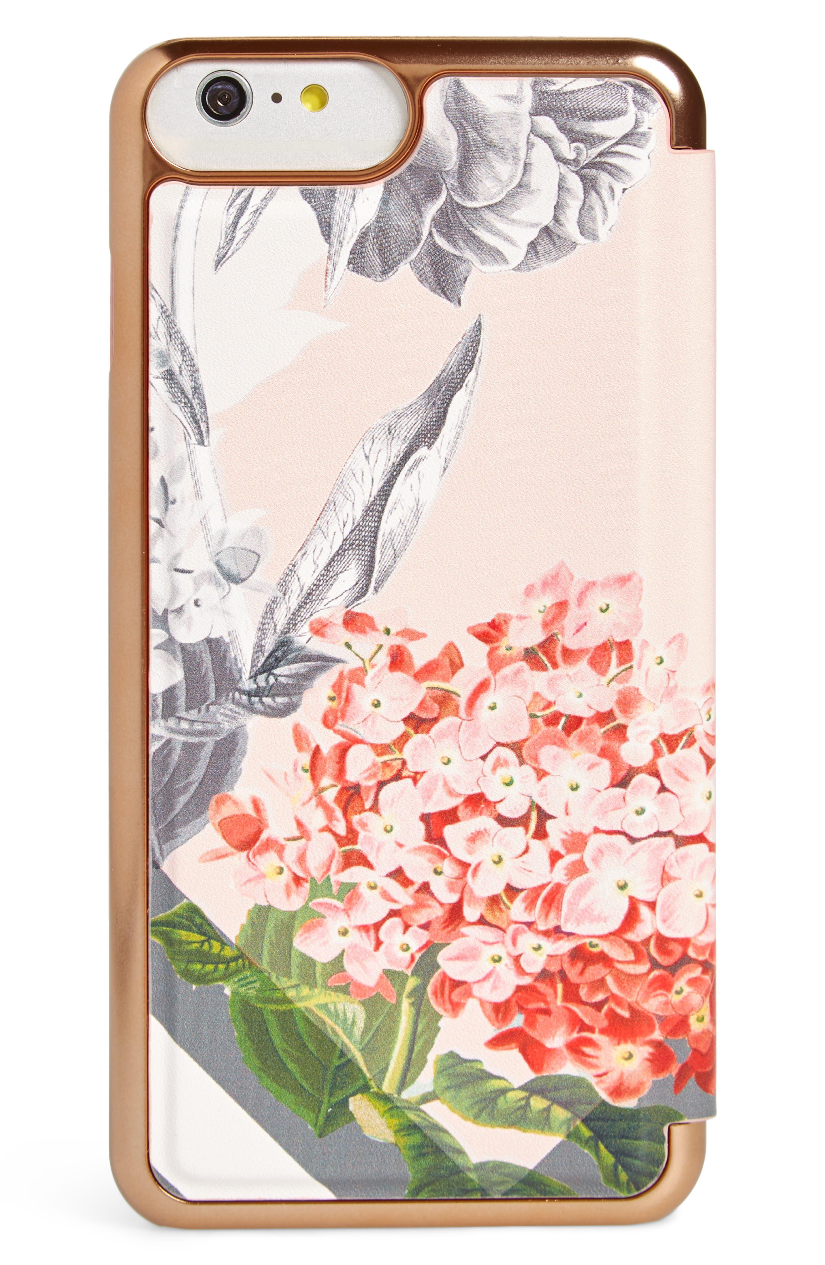 Palace Gardens iPhone 7/8 & 7/8 Plus Case,                             Alternate thumbnail 3, color,                             Pink