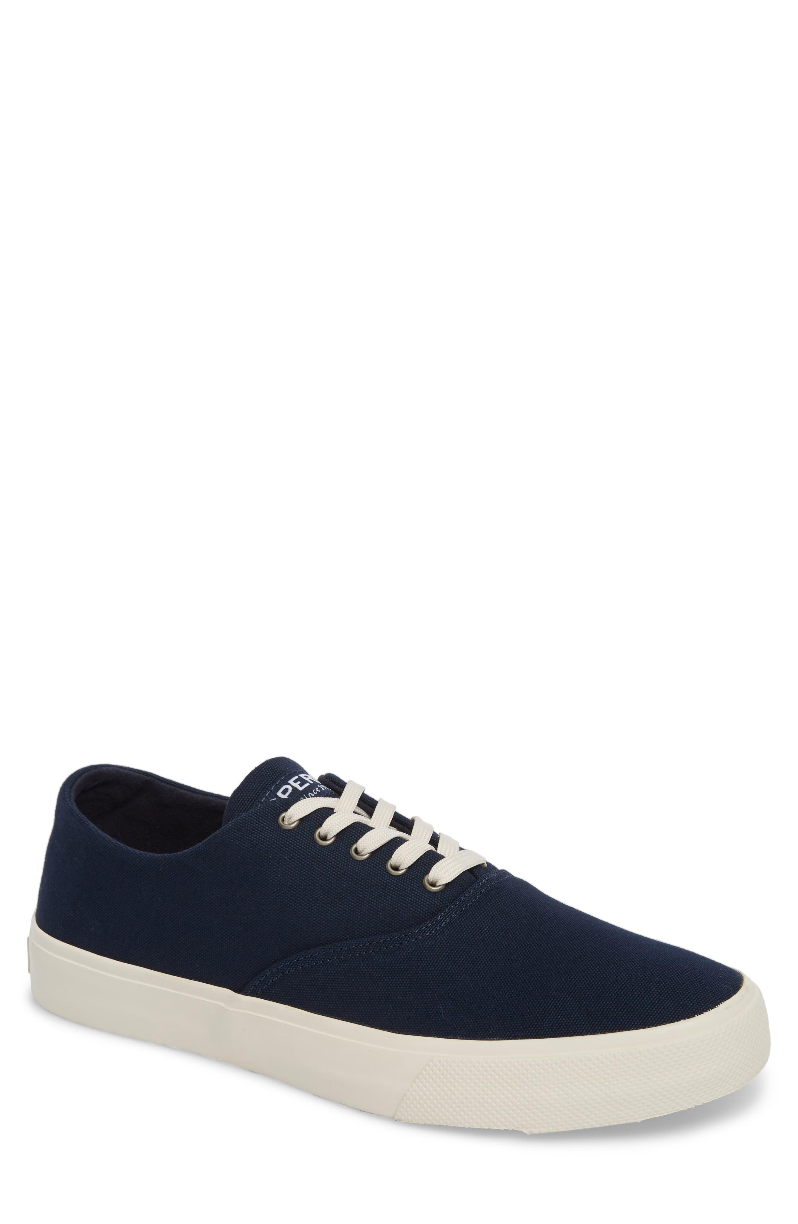 Captain's CVO Sneaker,                             Main thumbnail 1, color,                             Navy Fabric