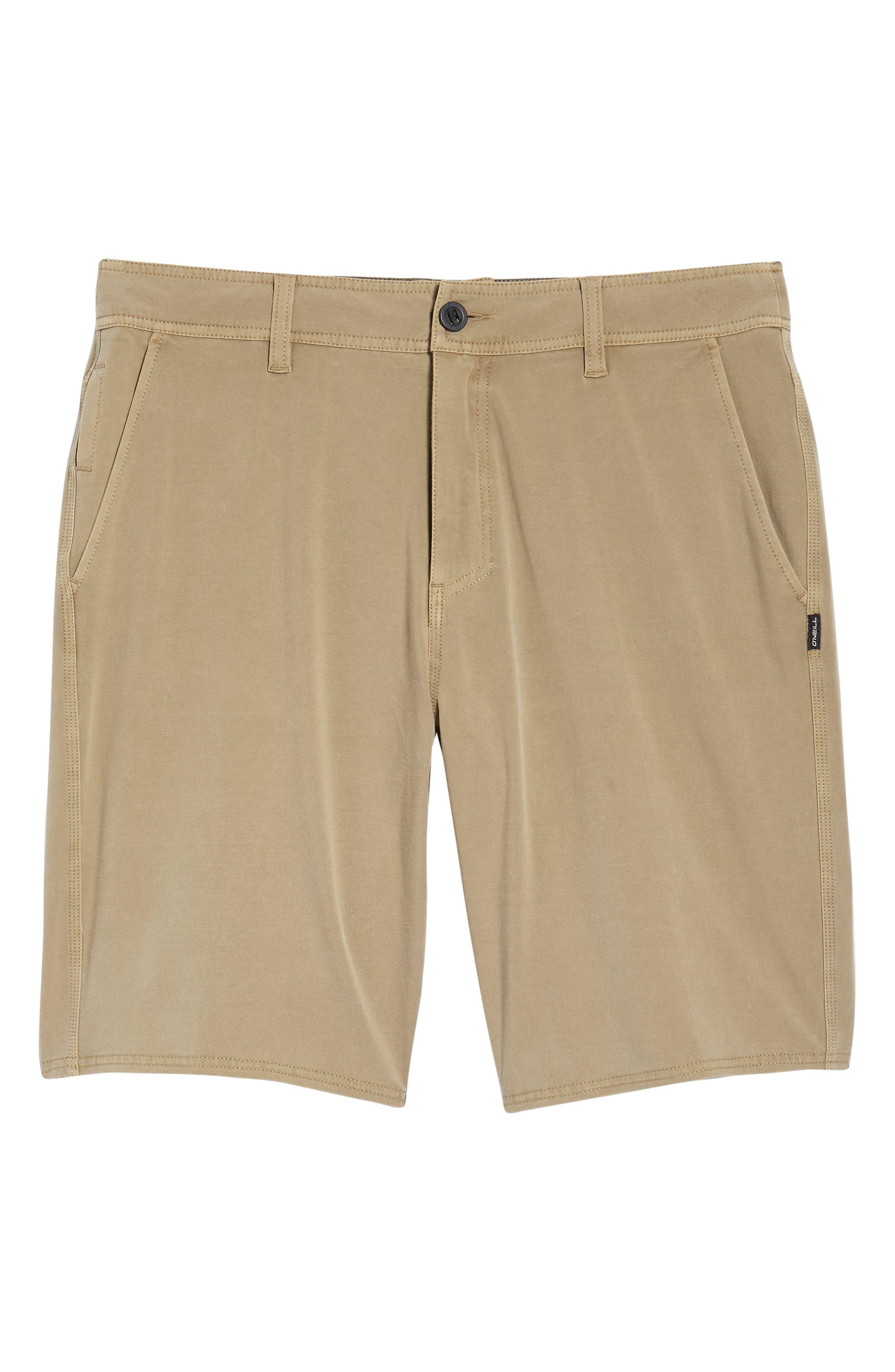 Venture Overdye Hybrid Shorts,                             Alternate thumbnail 6, color,                             Khaki
