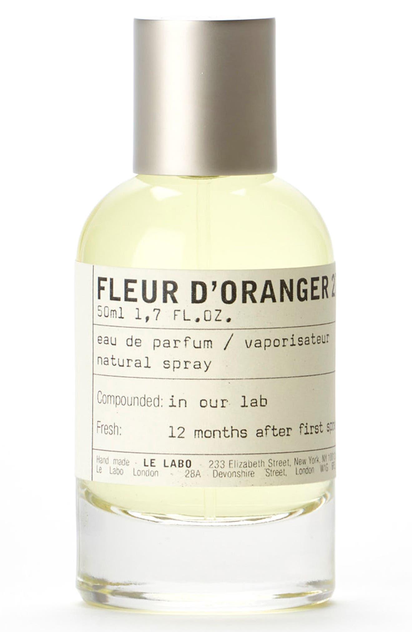 'Fleur d'Oranger 27' Eau de Parfum,                             Alternate thumbnail 2, color,                             No Color
