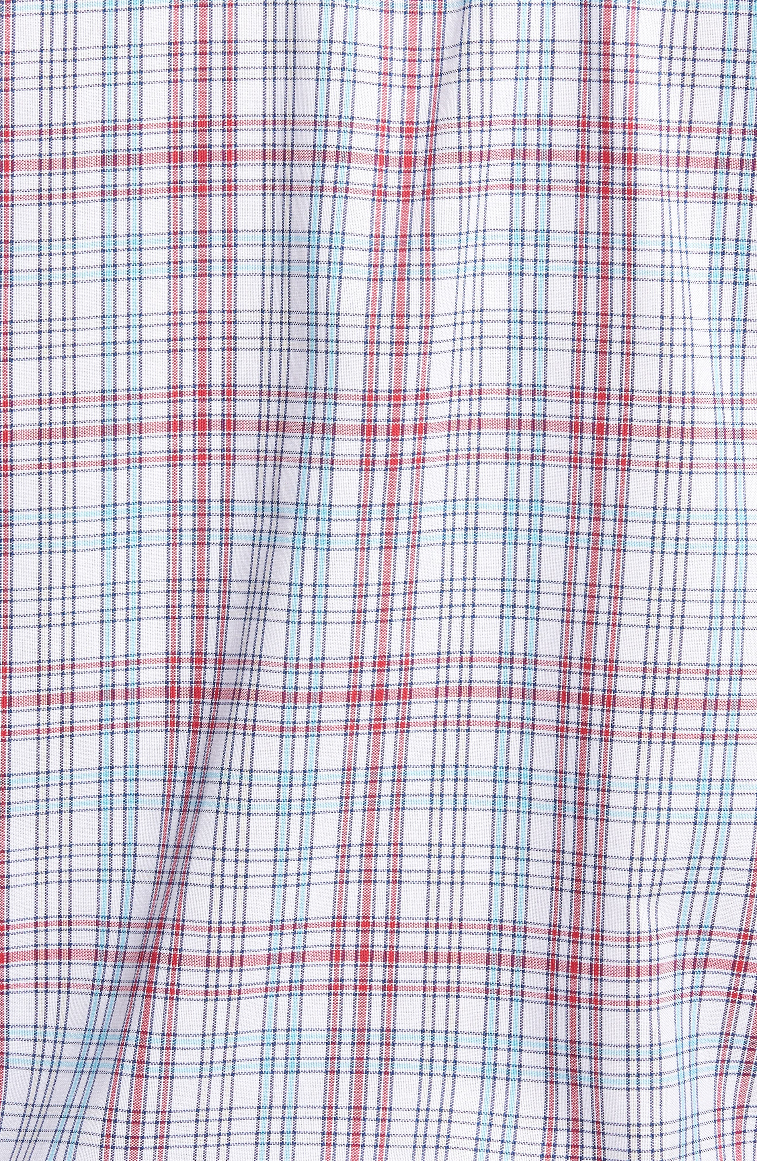 Alternate Image 5  - Cutter & Buck Charlie Classic Fit Easy Care Check Sport Shirt