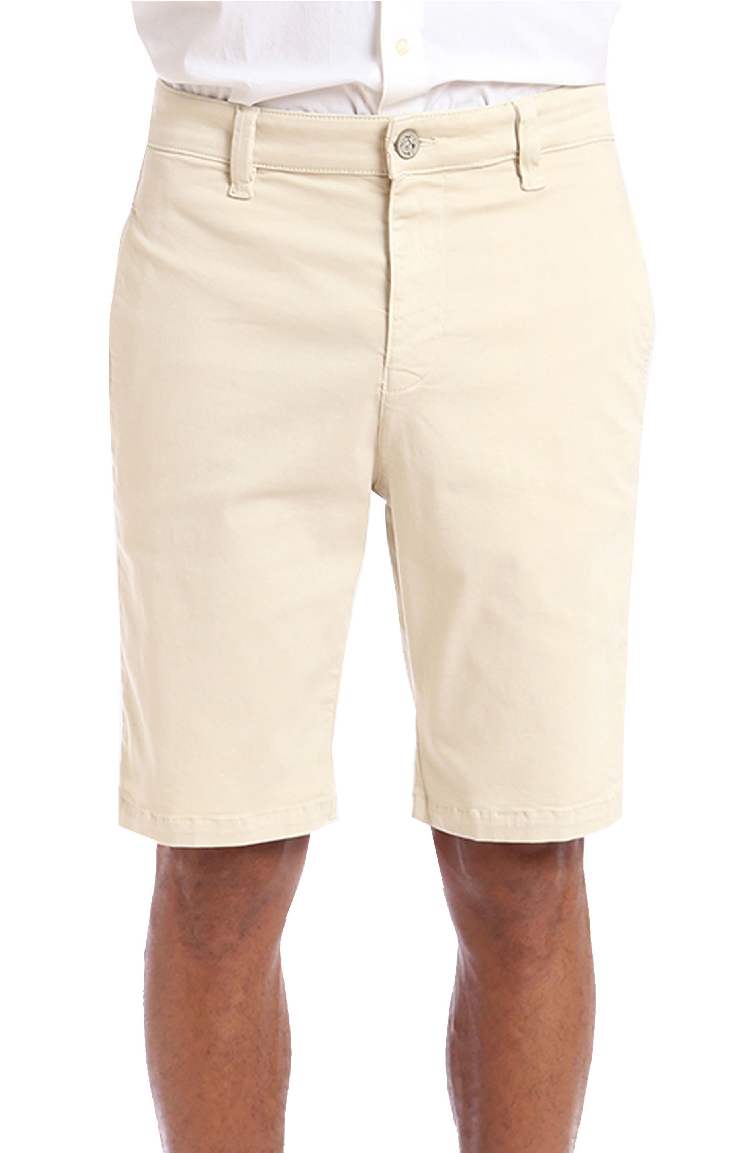 Nevada Twill Shorts,                         Main,                         color, Bone Twill