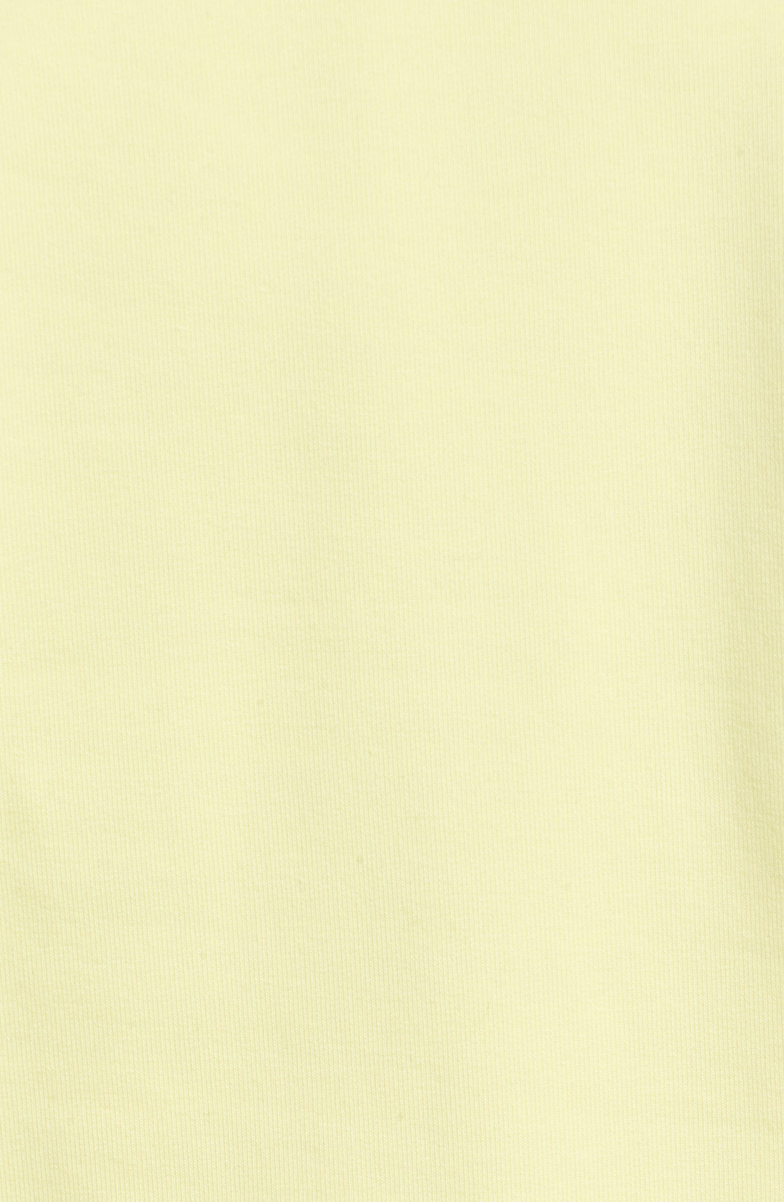 Logo Sweatshirt,                             Alternate thumbnail 6, color,                             Yellow Pear
