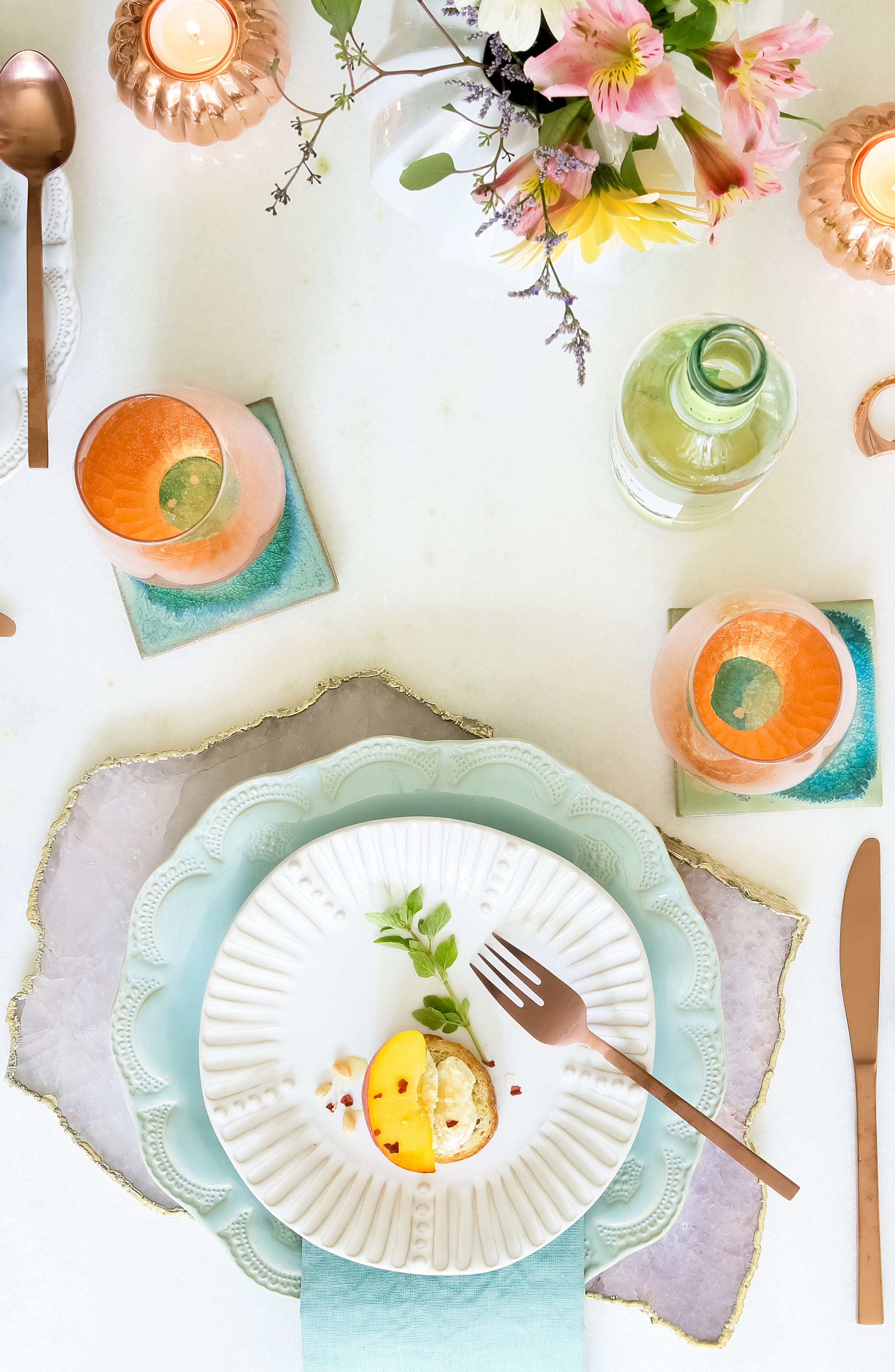 Incanto Stone Lace Dinner Plate,                             Alternate thumbnail 2, color,                             Aqua