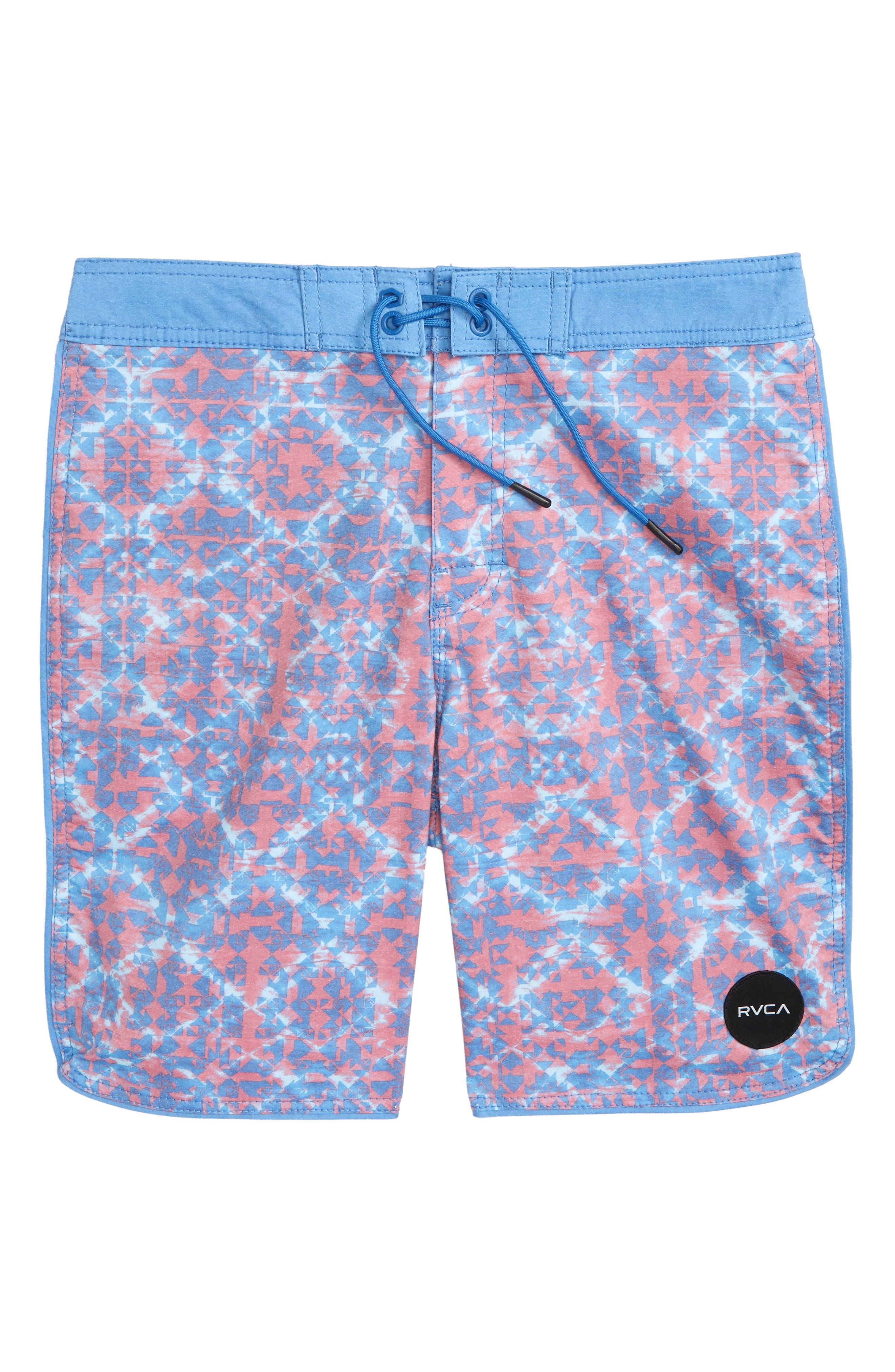 Sanur Board Shorts,                         Main,                         color, Cobalt