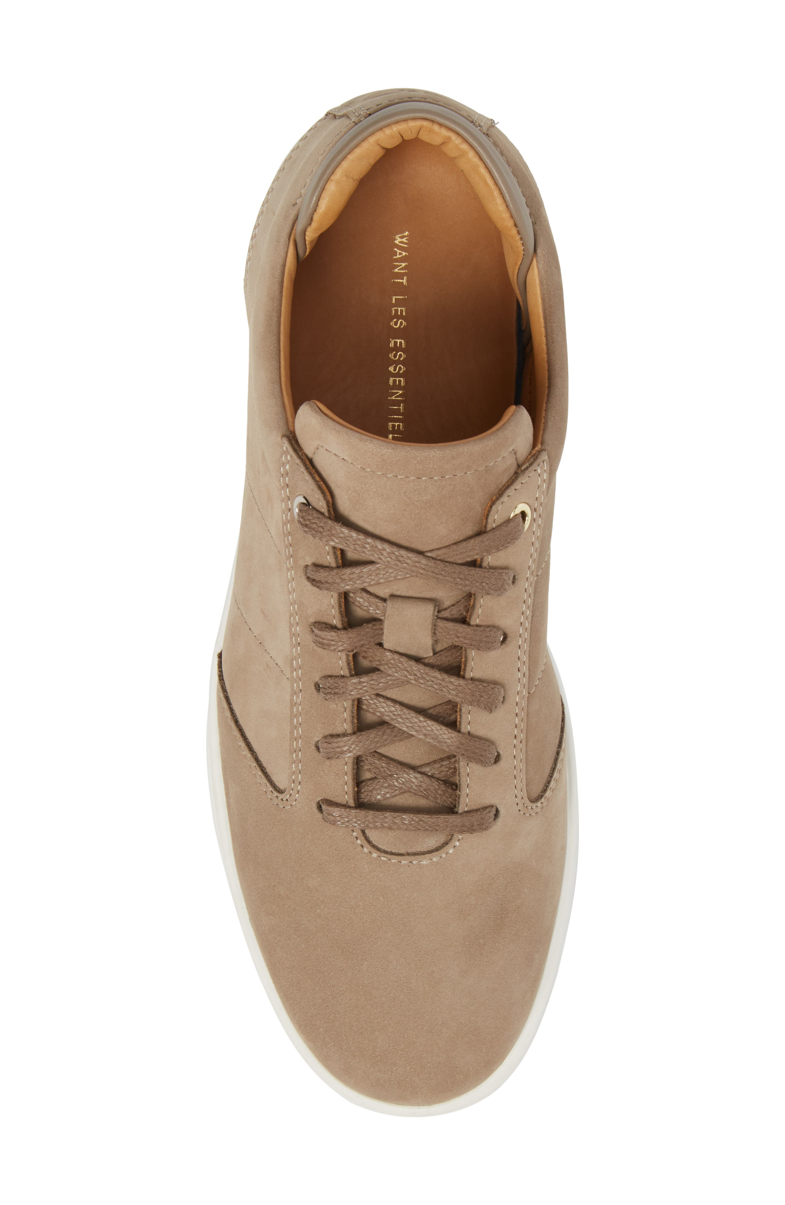 Lennon Sneaker,                             Alternate thumbnail 5, color,                             Woodsmoke/ Mushroom