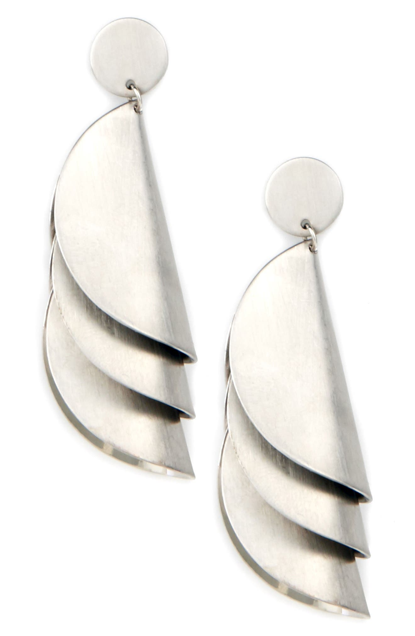 Sole Society Fossil Cove Statement Earrings