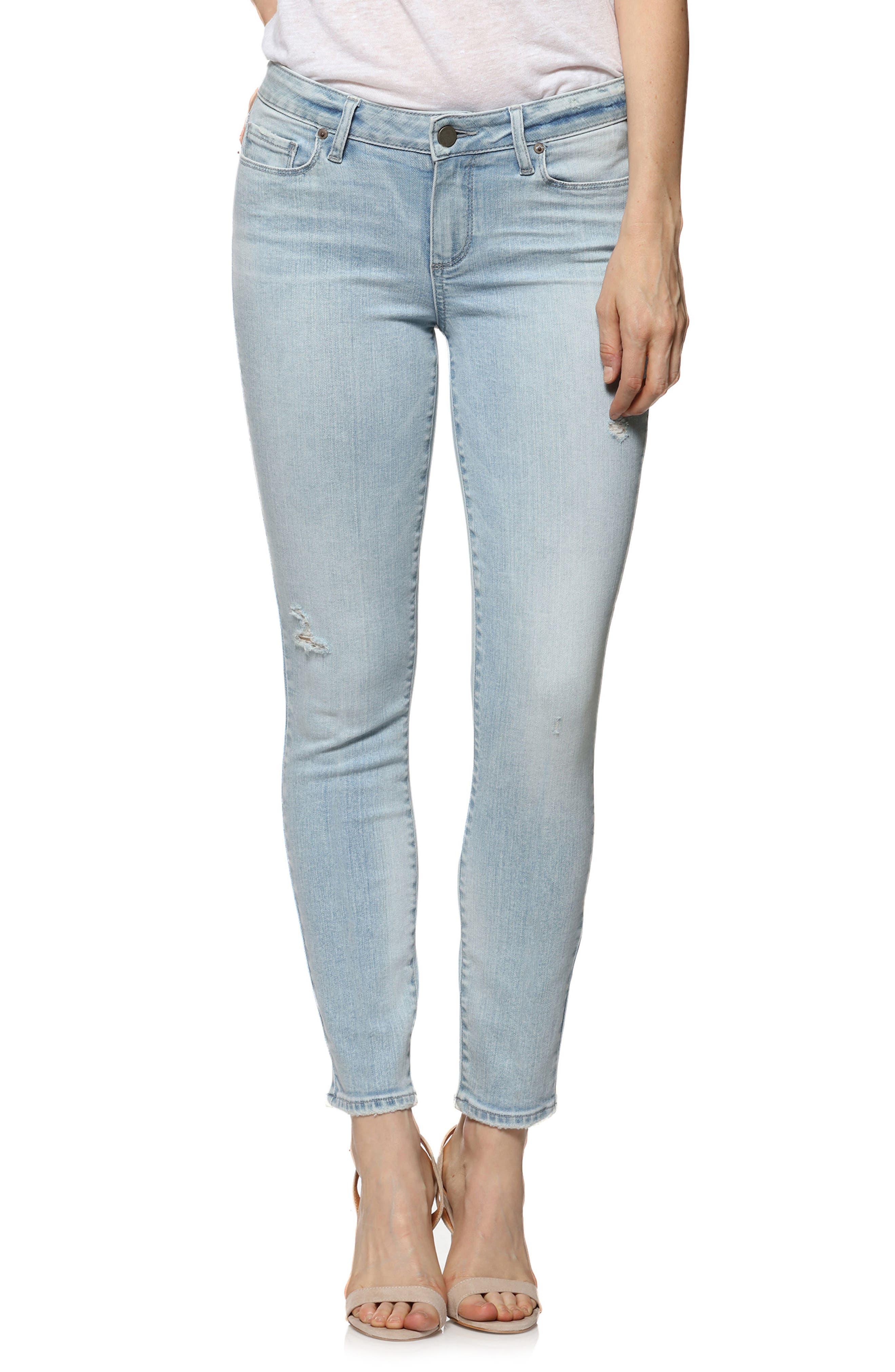 Verdugo Ankle Skinny Jeans,                             Main thumbnail 1, color,                             Pasadena