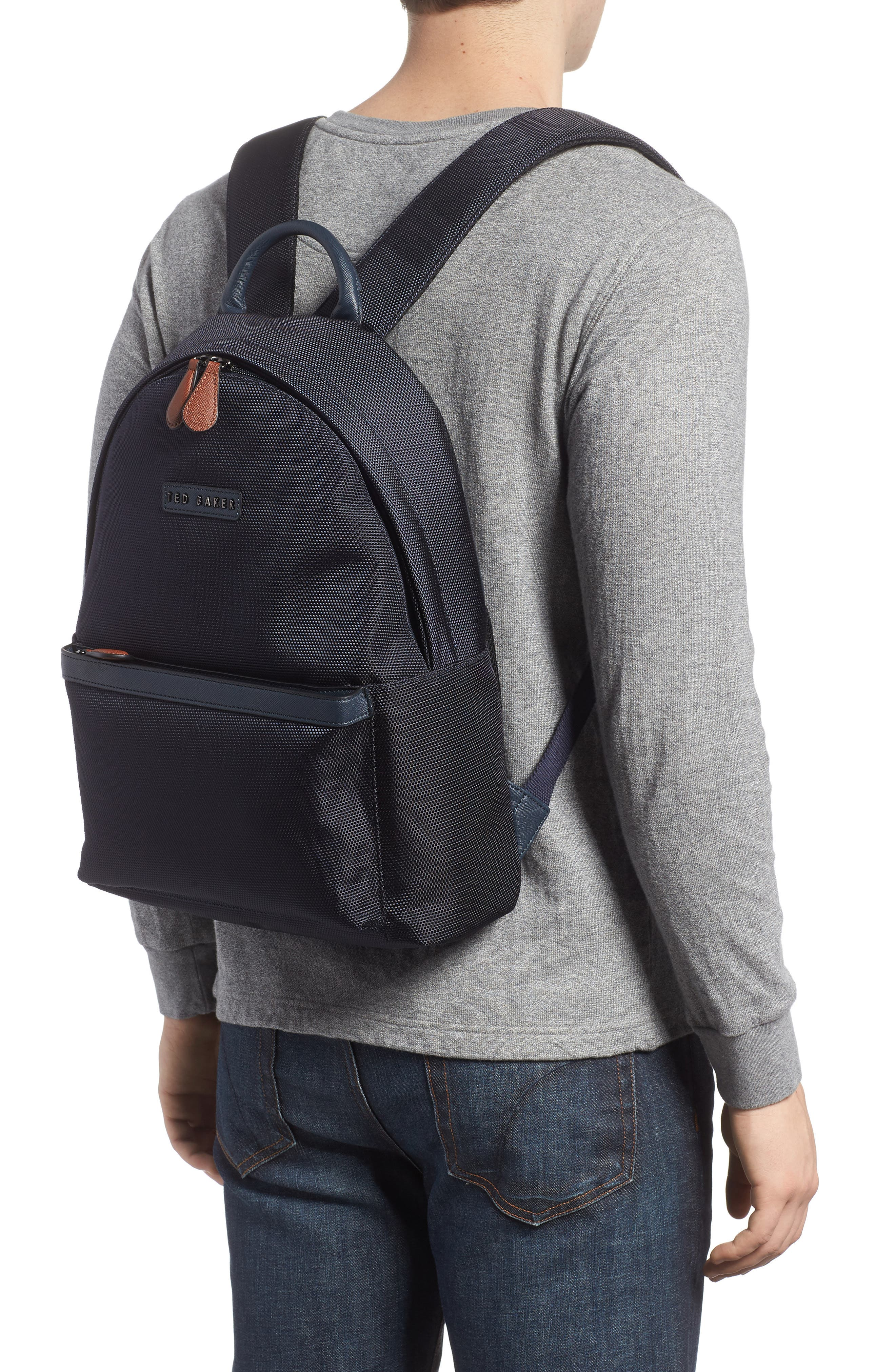 Brakes Backpack,                             Alternate thumbnail 2, color,                             Navy