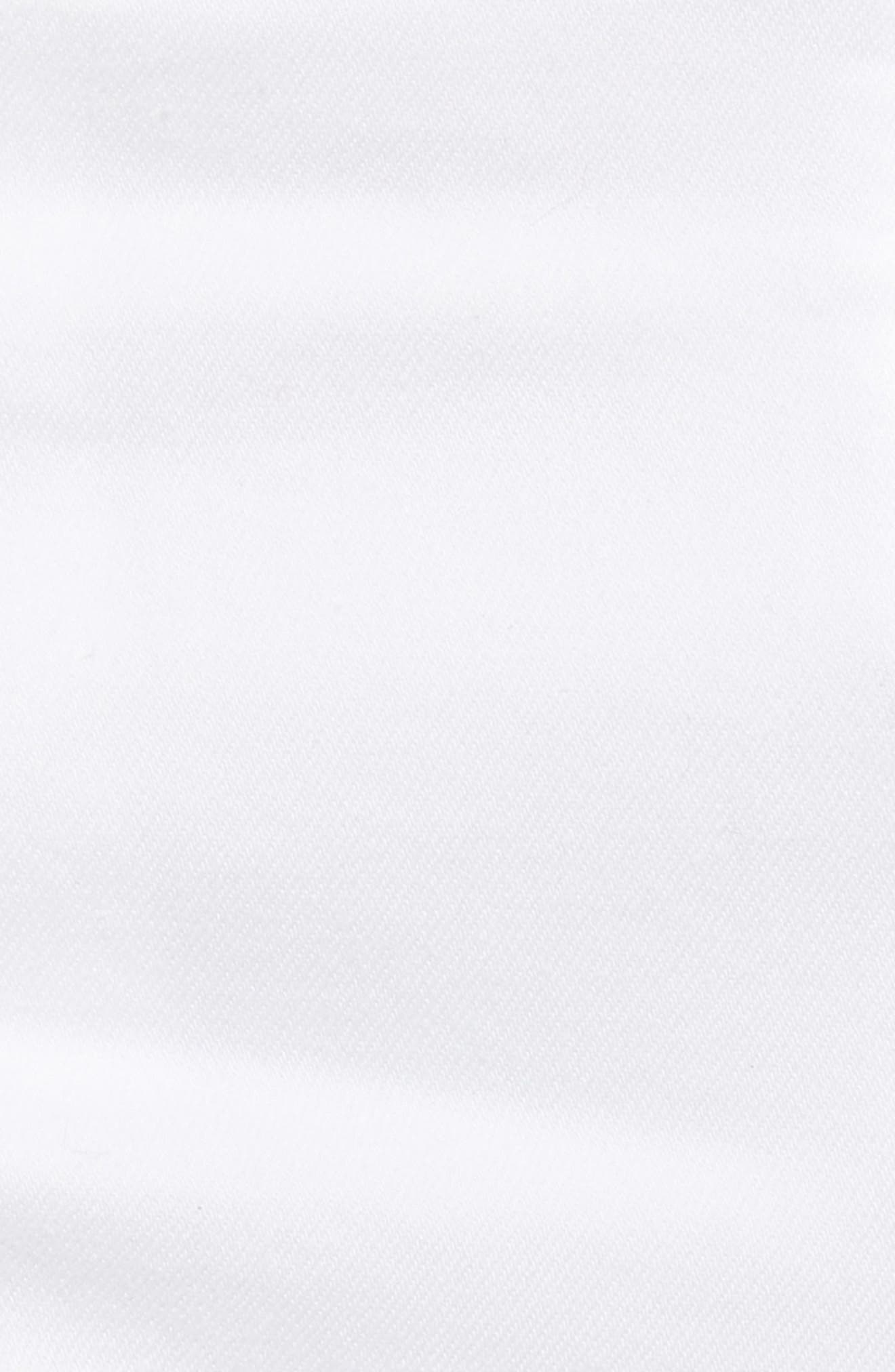 Ripped Cutoff Shorts,                             Alternate thumbnail 6, color,                             White