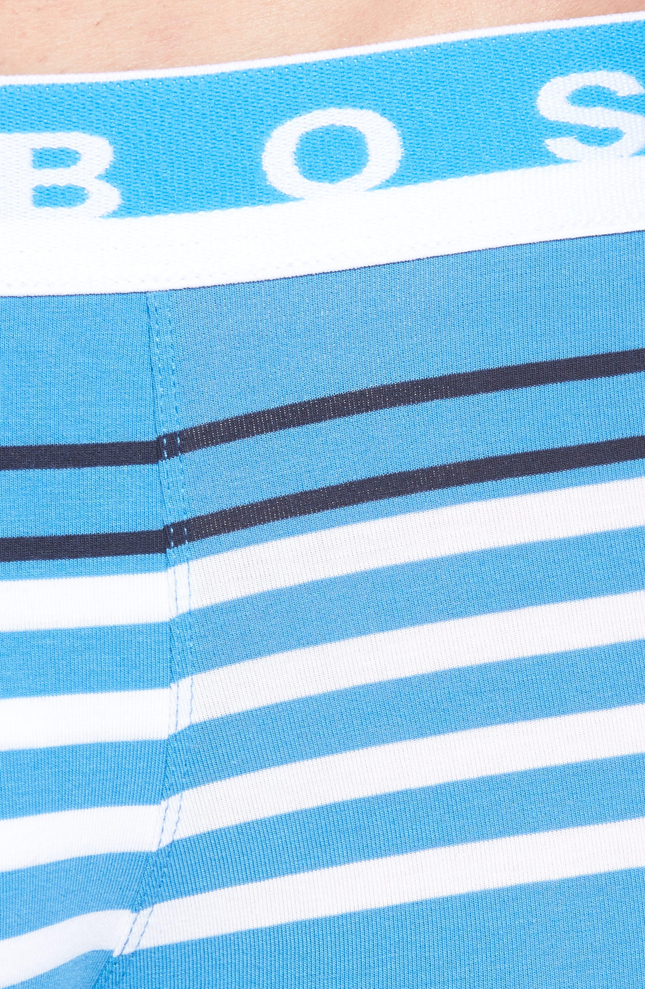 Stripe Trunks,                             Alternate thumbnail 4, color,                             Blue