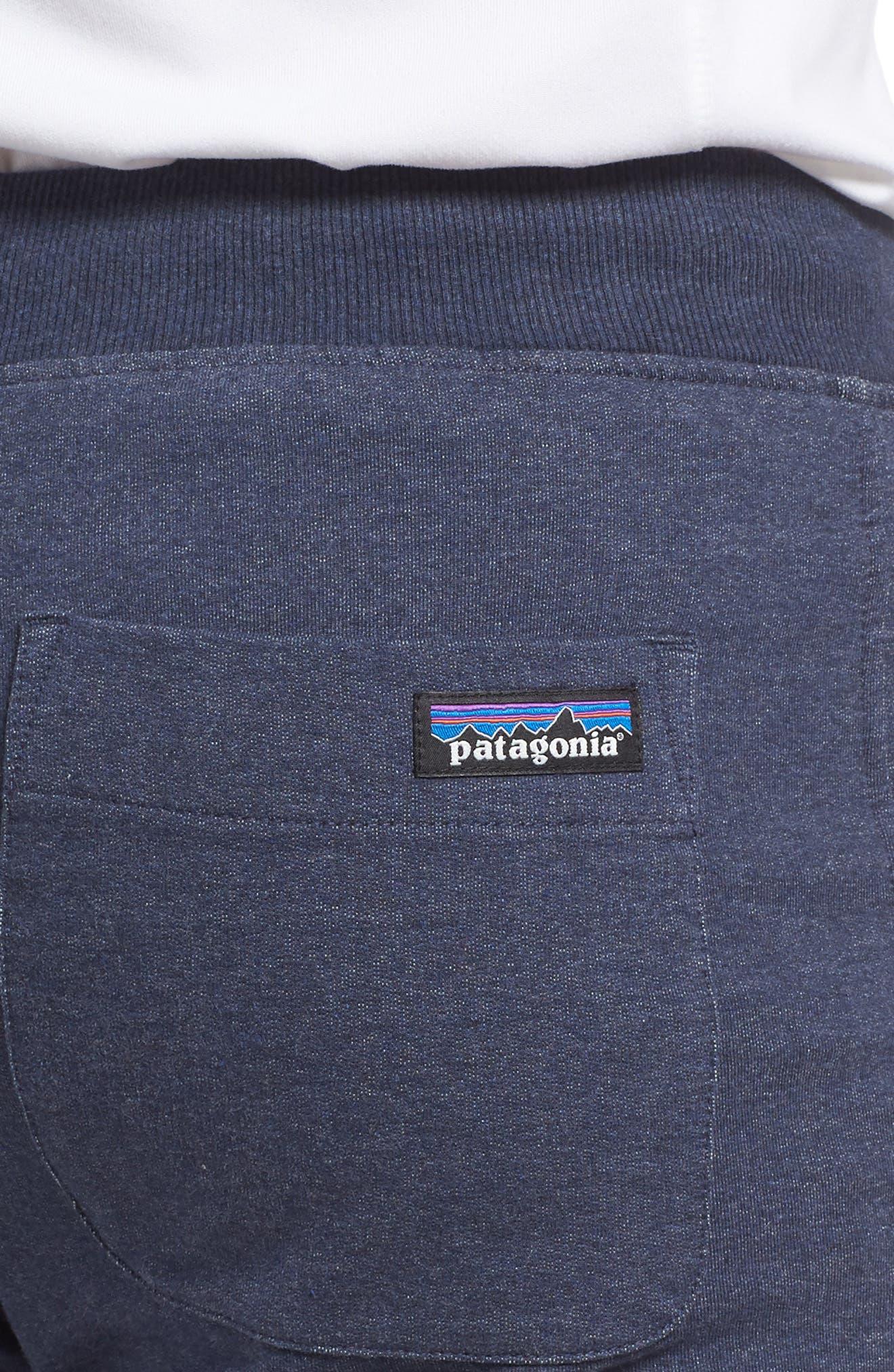 M's Mahnya Fleece Jogger Pants,                             Alternate thumbnail 4, color,                             Navy Blue