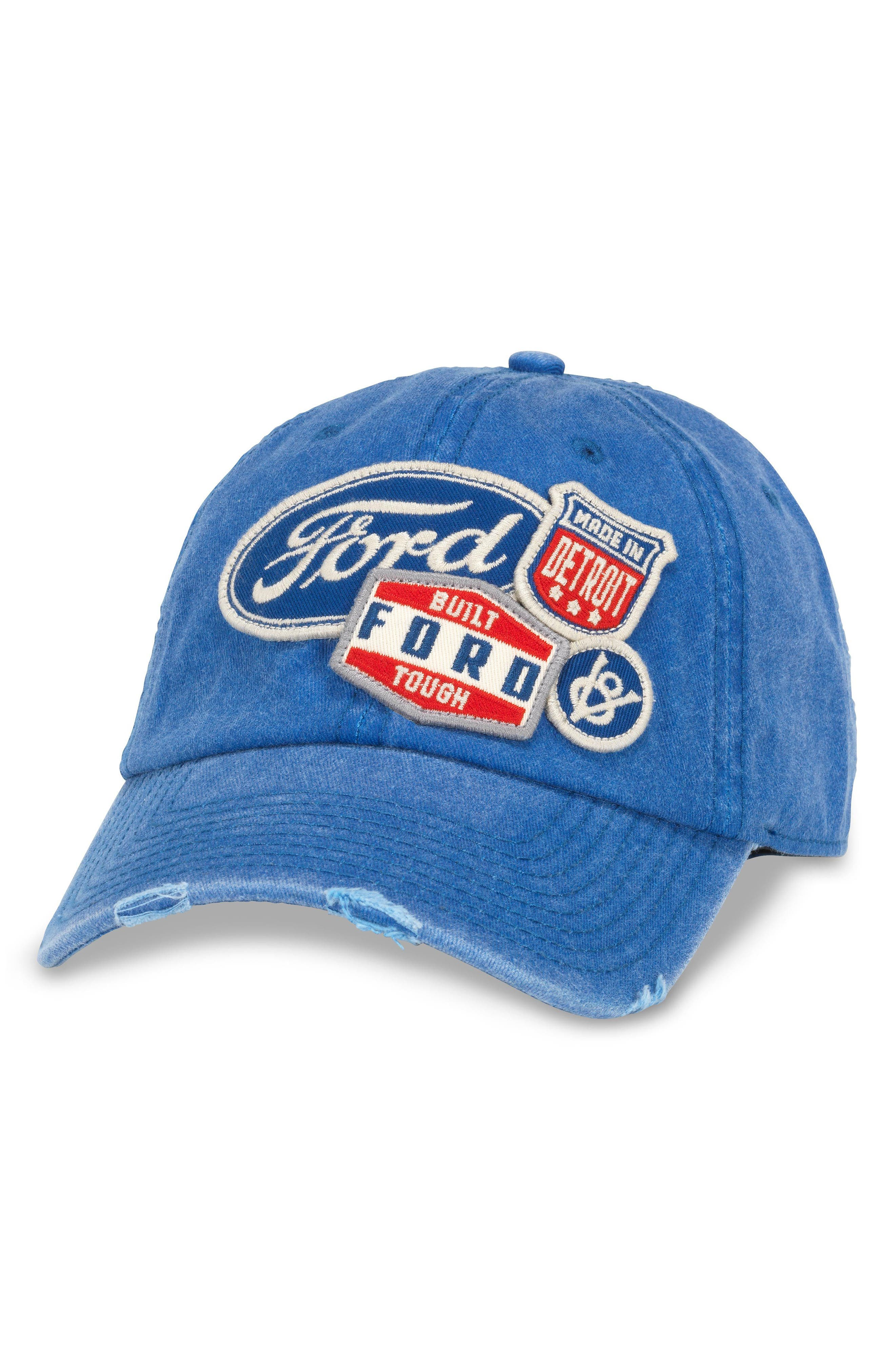 Iconic - Ford Ball Cap,                         Main,                         color, Royal
