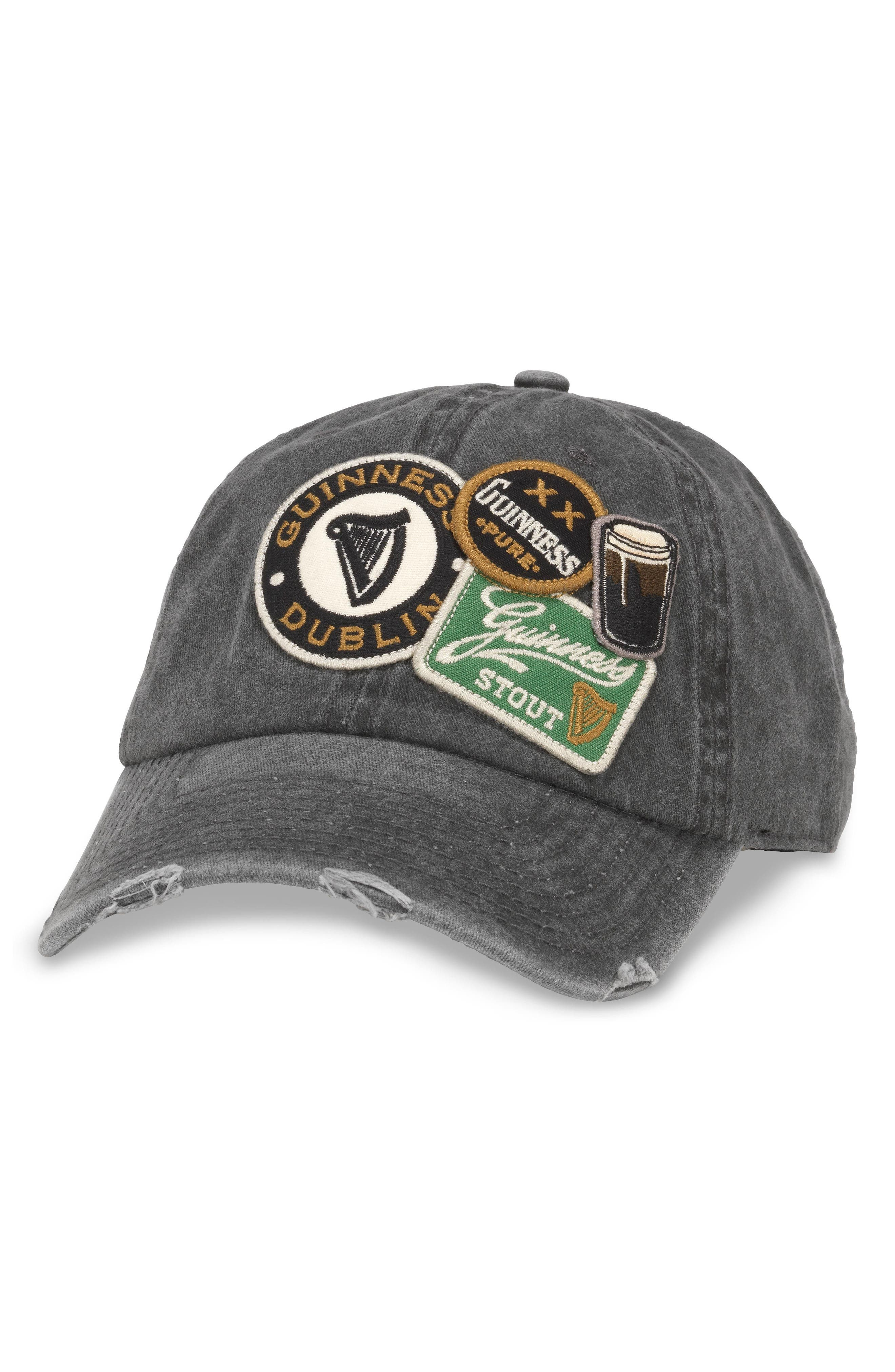 Iconic - Guiness Ball Cap,                             Main thumbnail 1, color,                             Black