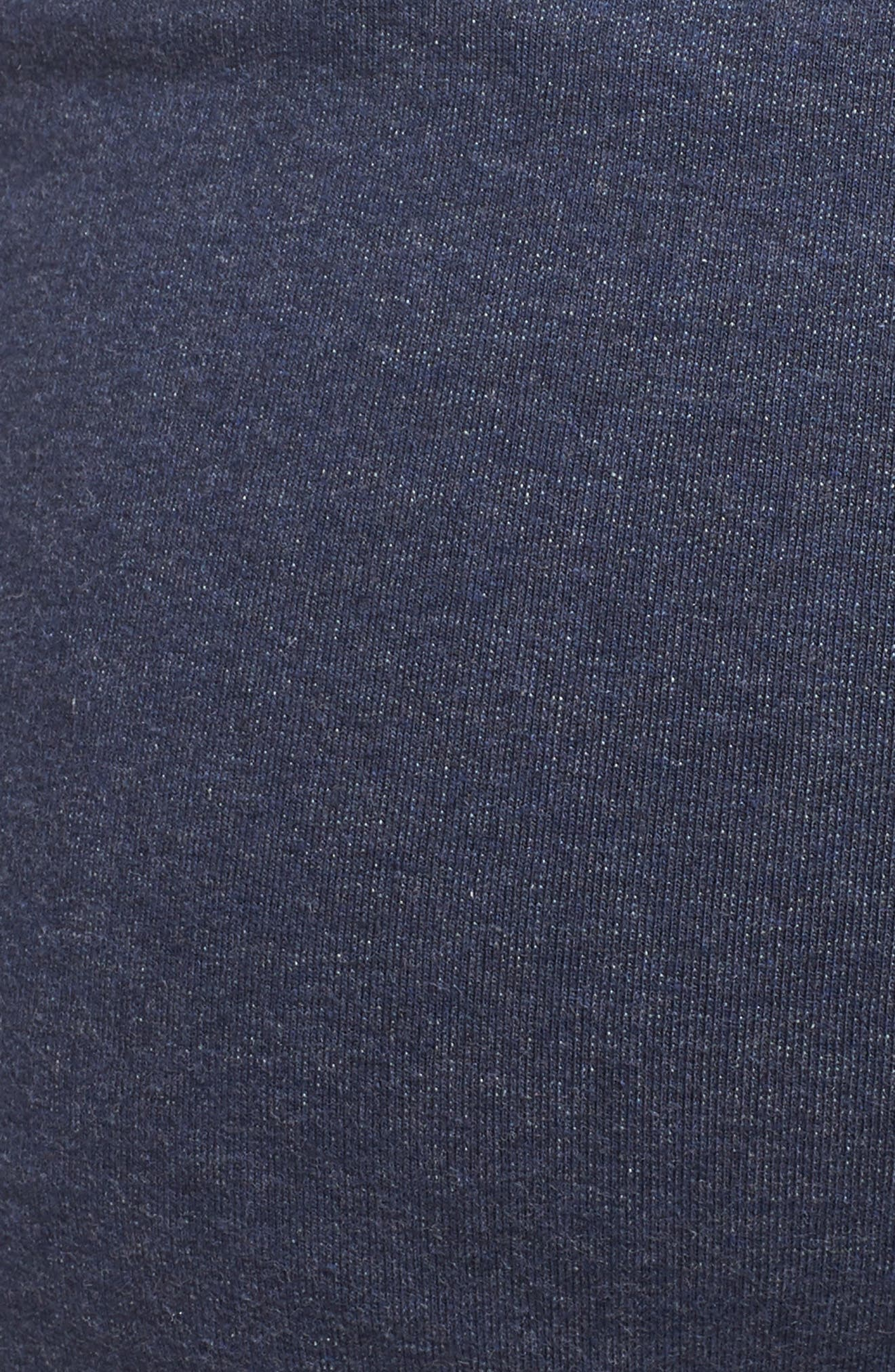 M's Mahnya Fleece Jogger Pants,                             Alternate thumbnail 5, color,                             Navy Blue