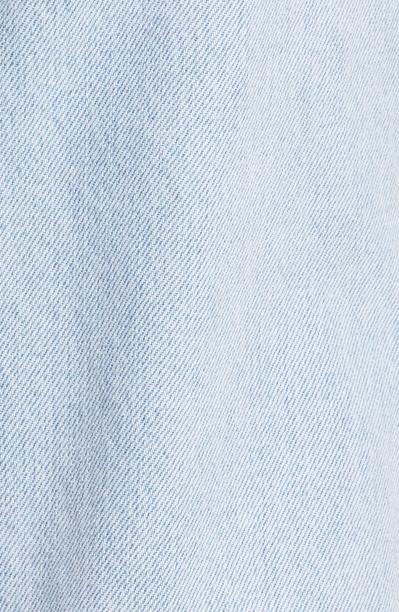 Mom High Waist Jeans,                             Alternate thumbnail 5, color,                             Donna Martin