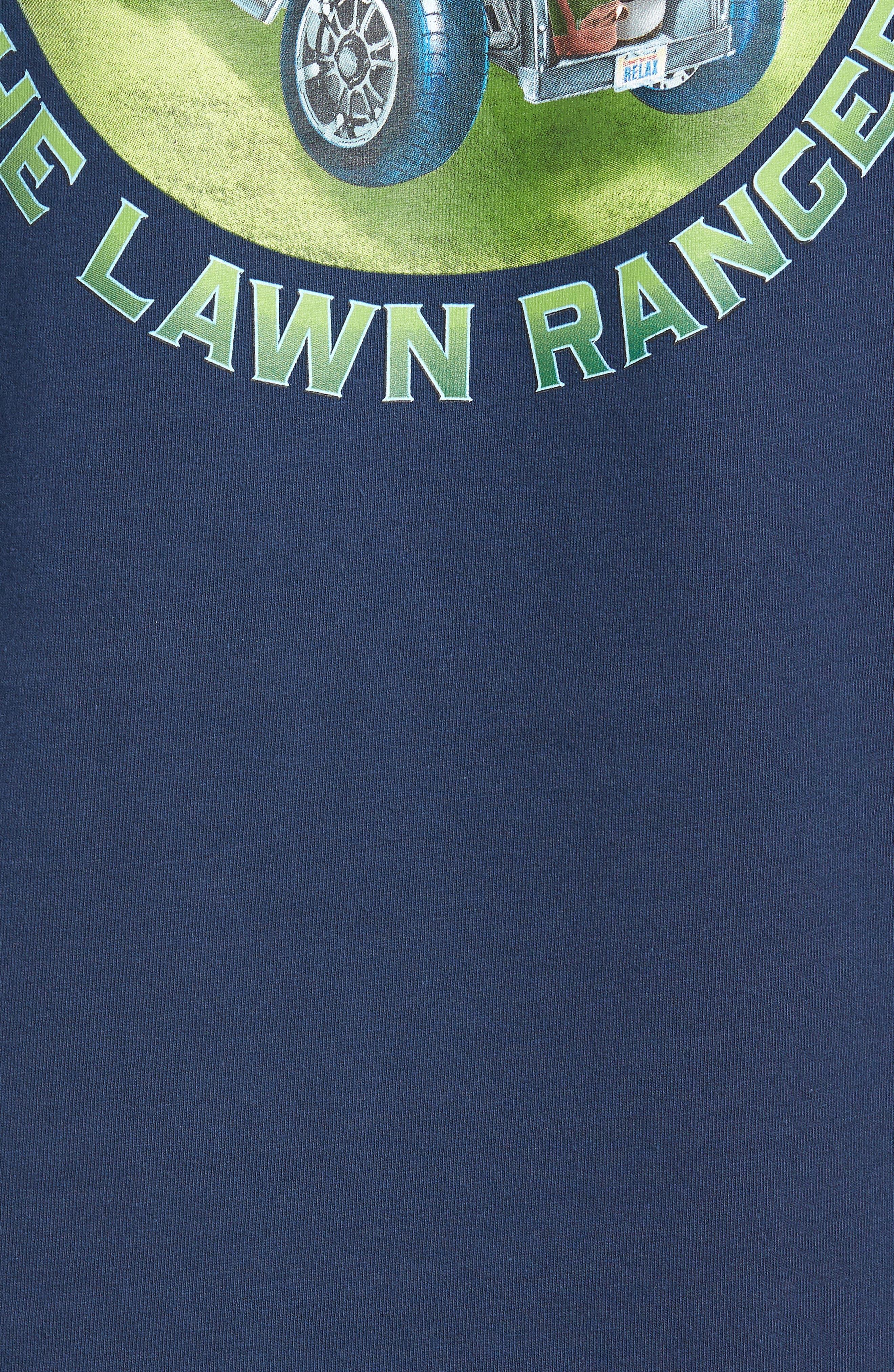 The Lawn Ranger T-Shirt,                             Alternate thumbnail 5, color,                             Navy