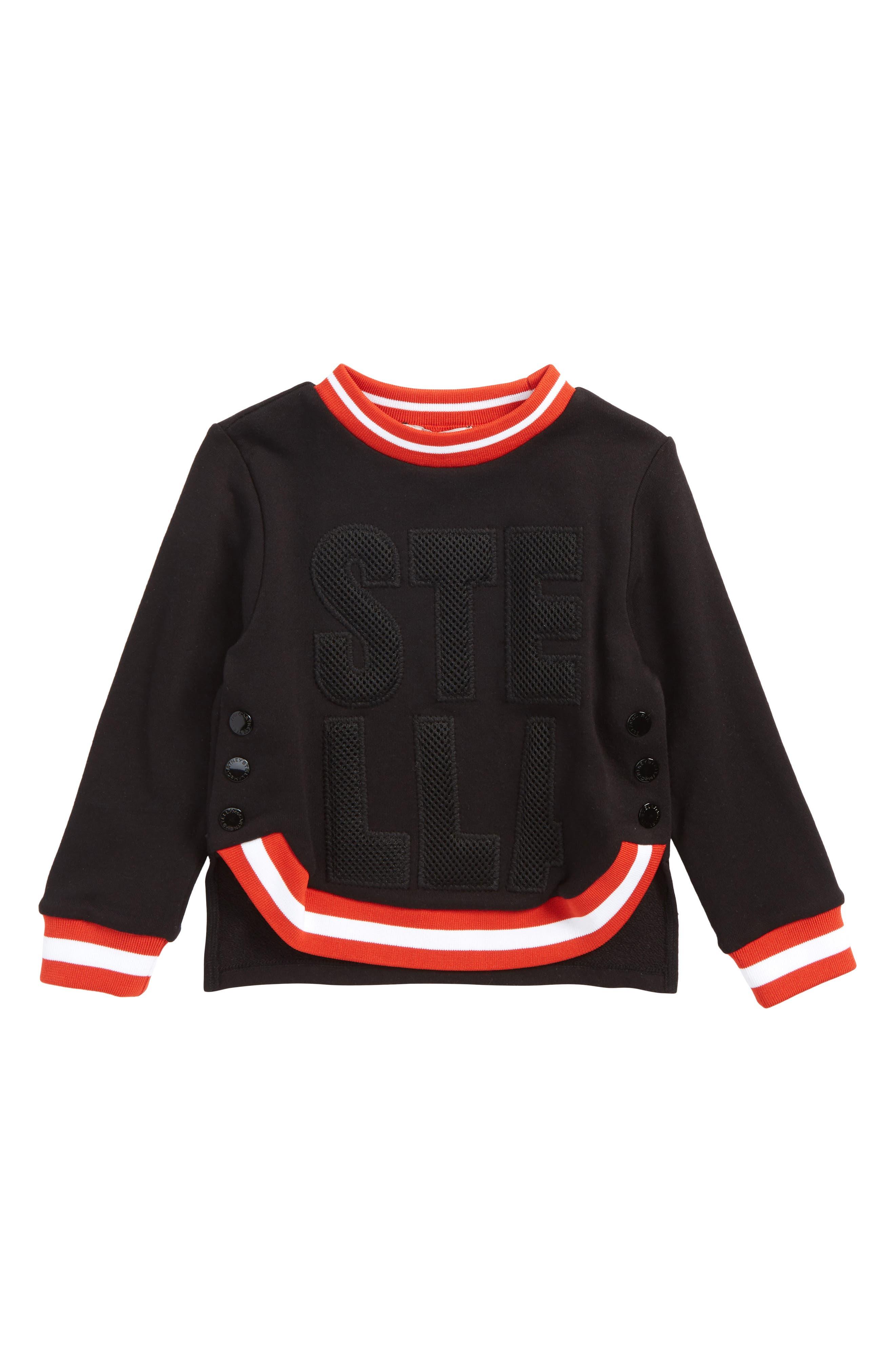 Daya Sweatshirt,                         Main,                         color, Black