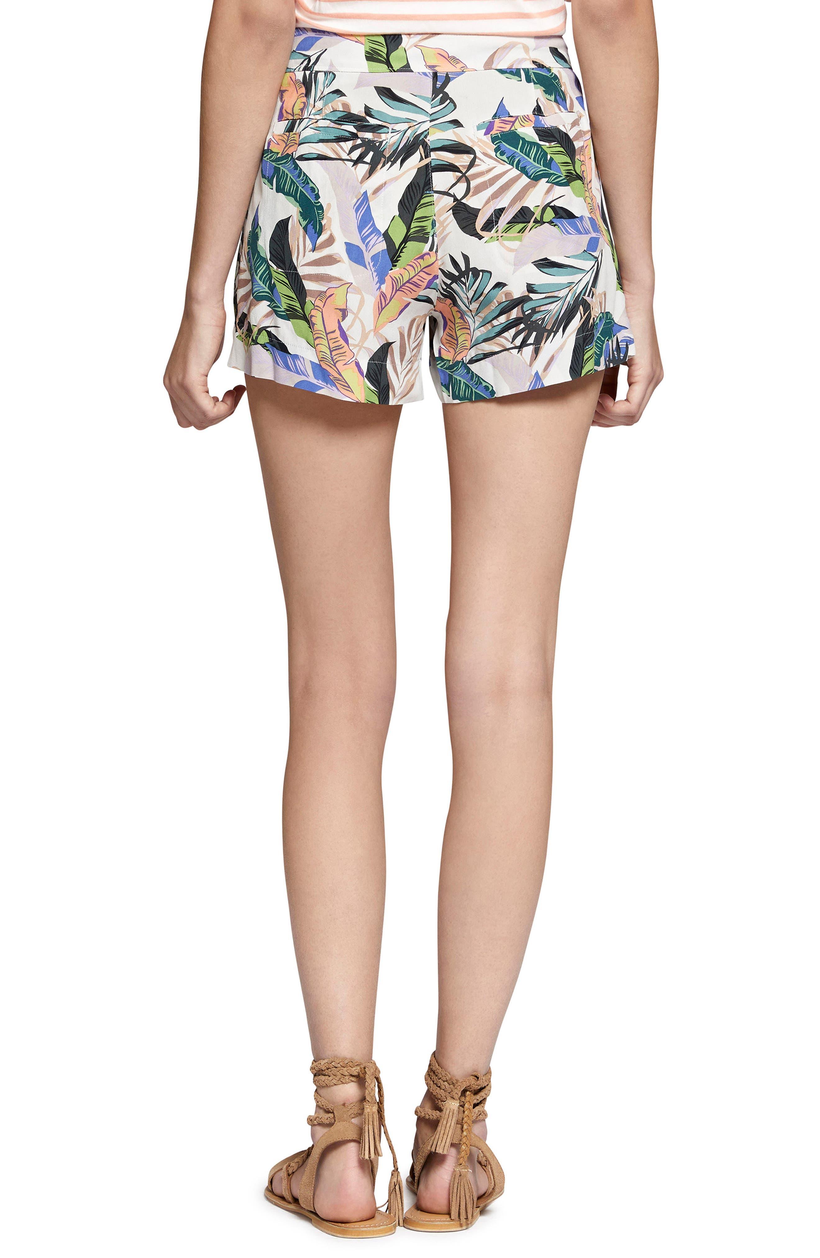 Wild Flower Shorts,                             Alternate thumbnail 2, color,                             Tropics