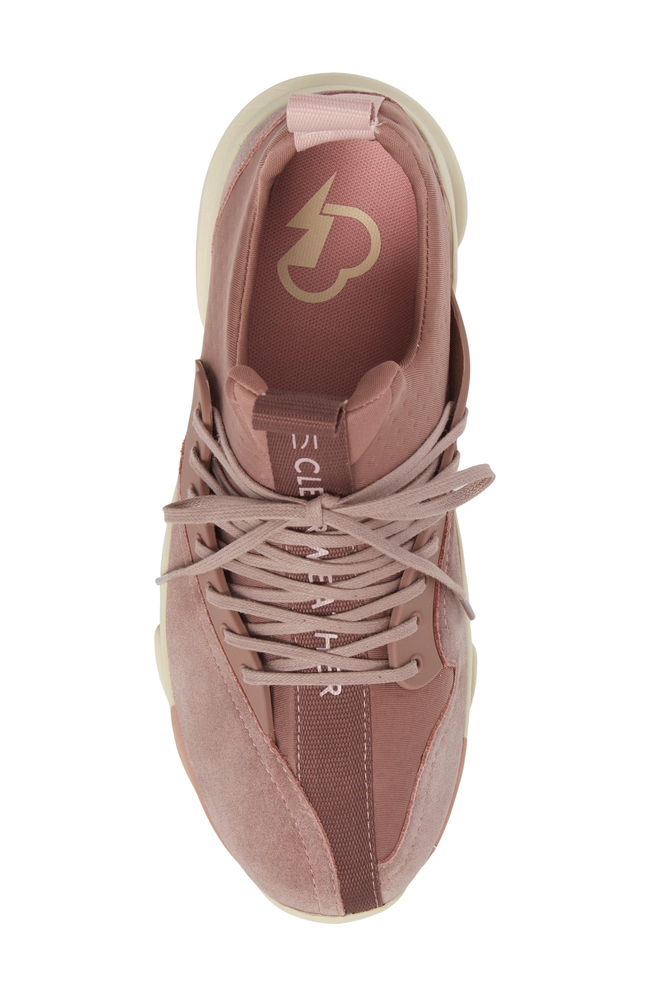The Cloud Stryke Sneaker,                             Alternate thumbnail 5, color,                             Antler Pink