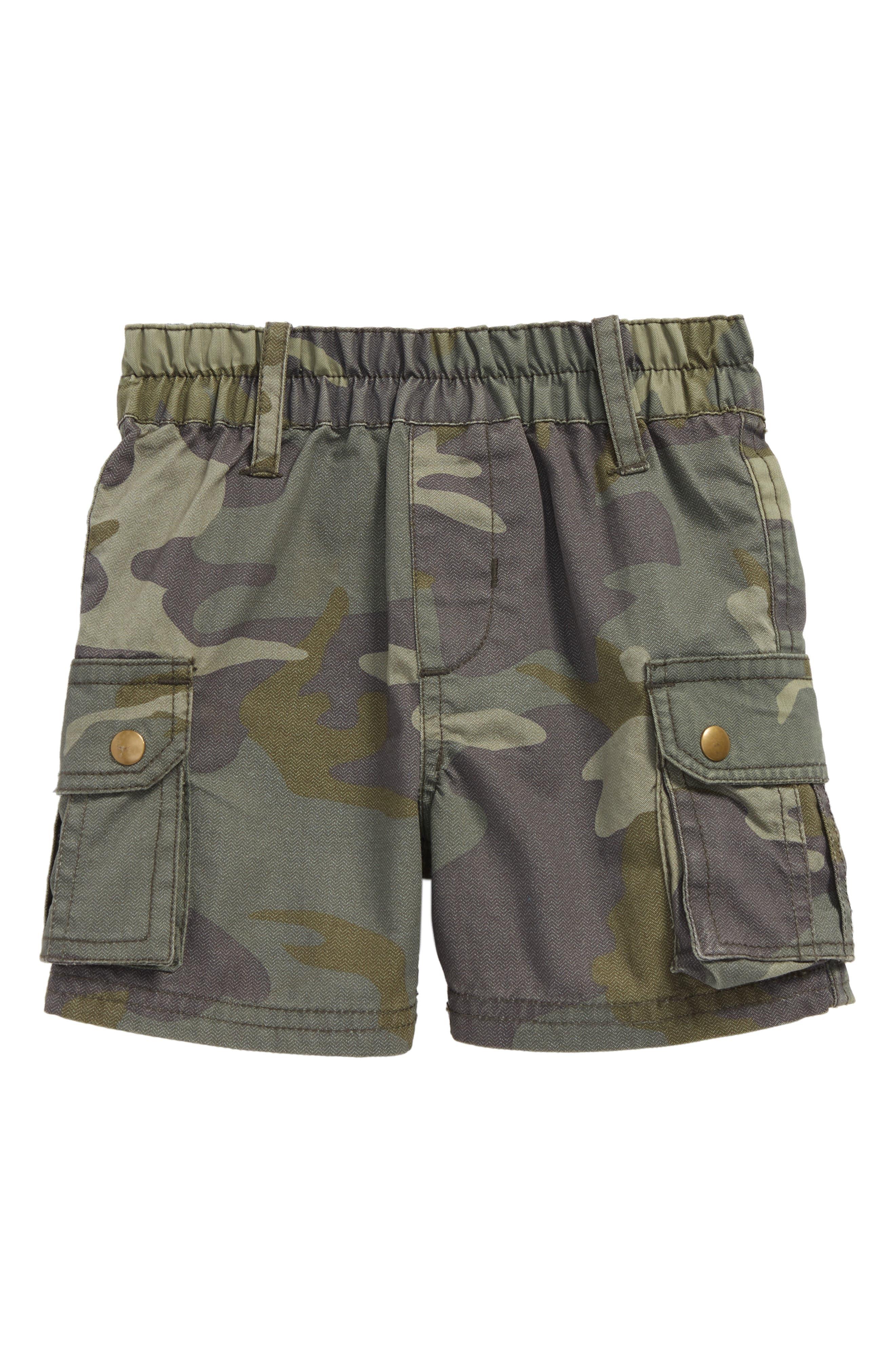 Peek Explorer Camo Shorts (Baby Boys)