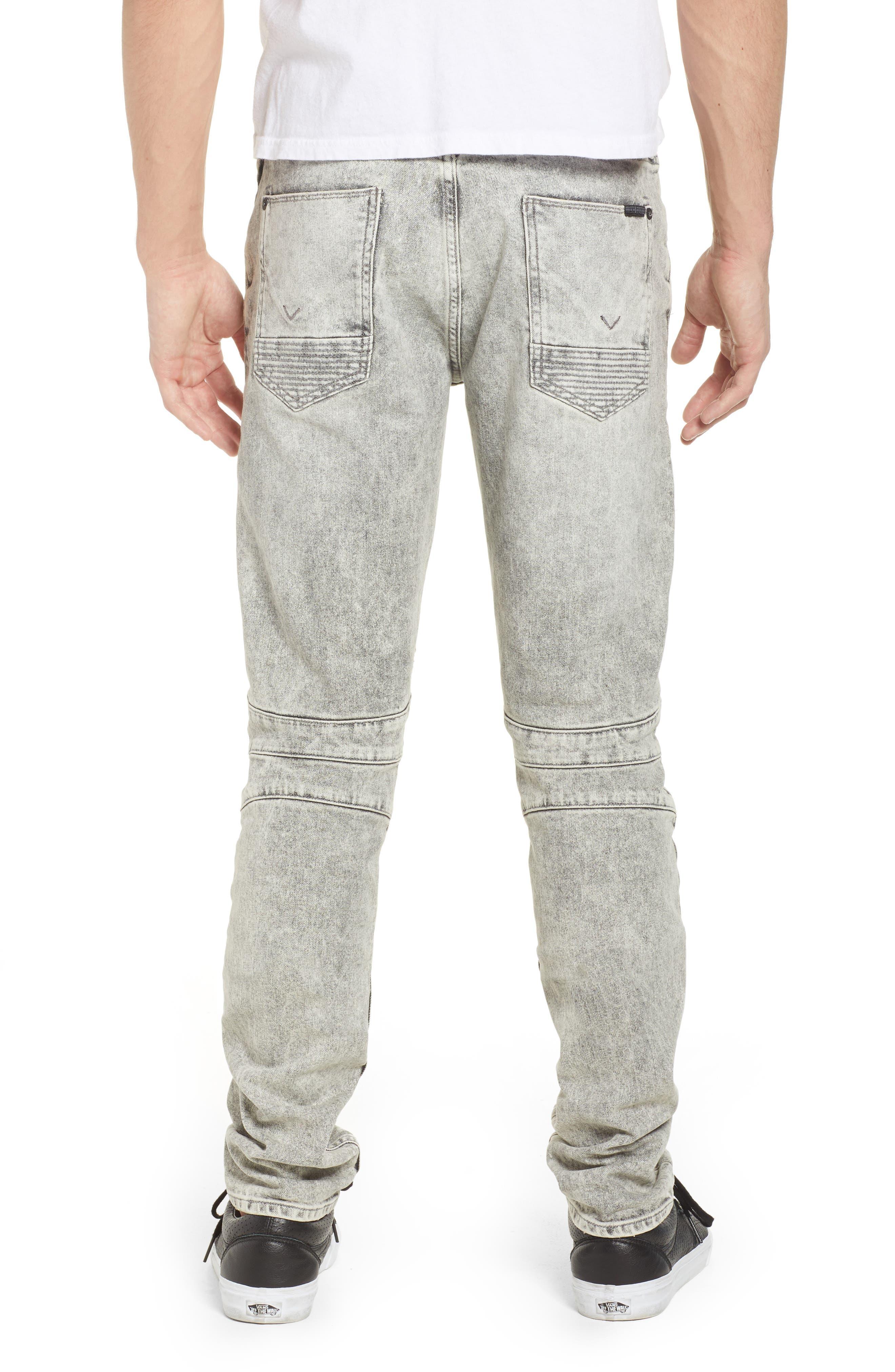 Hudson Blinder Biker Skinny Fit Jeans,                             Alternate thumbnail 2, color,                             Carbon Fiber