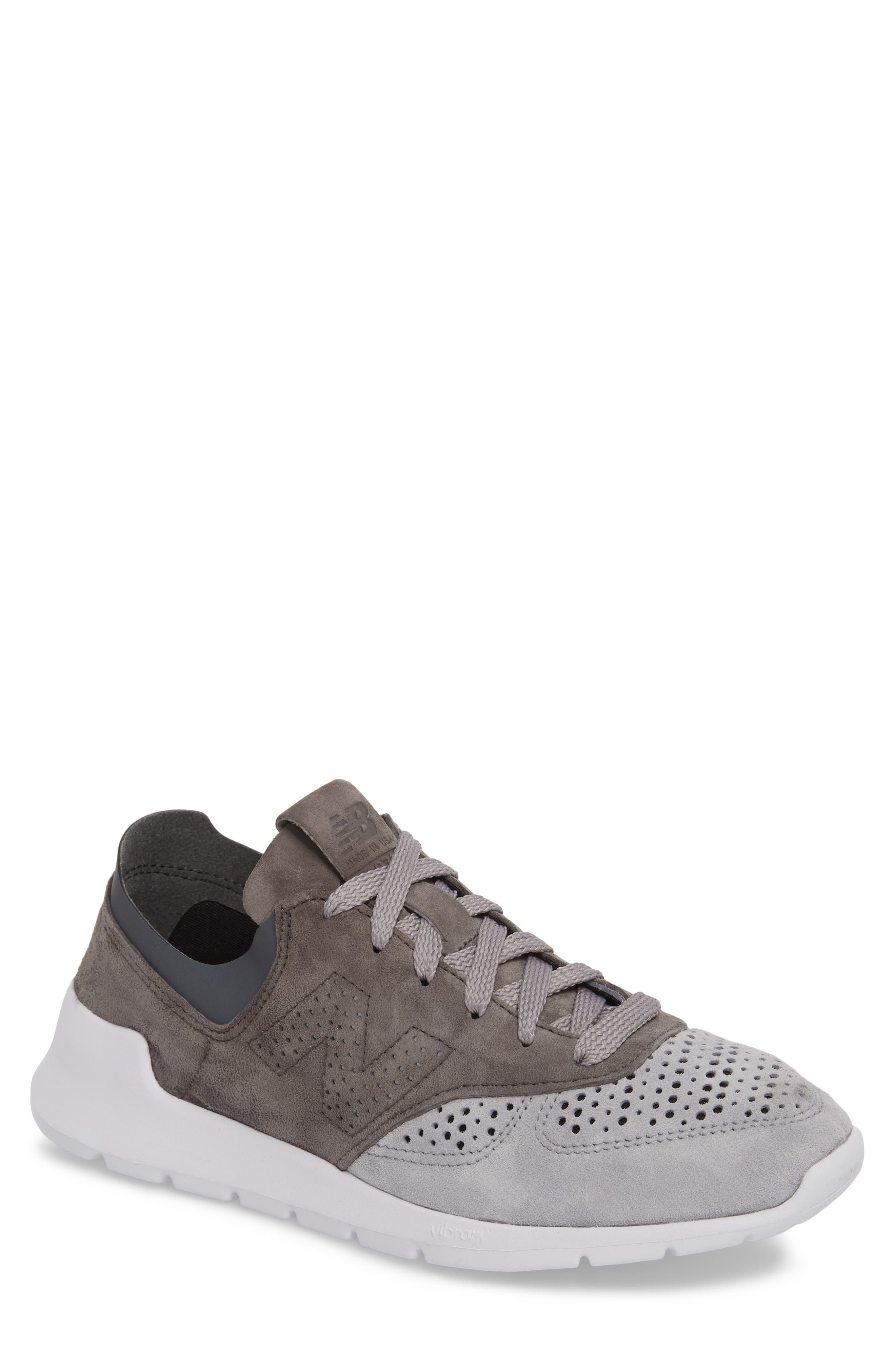 1978 Perforated Sneaker,                         Main,                         color, Grey
