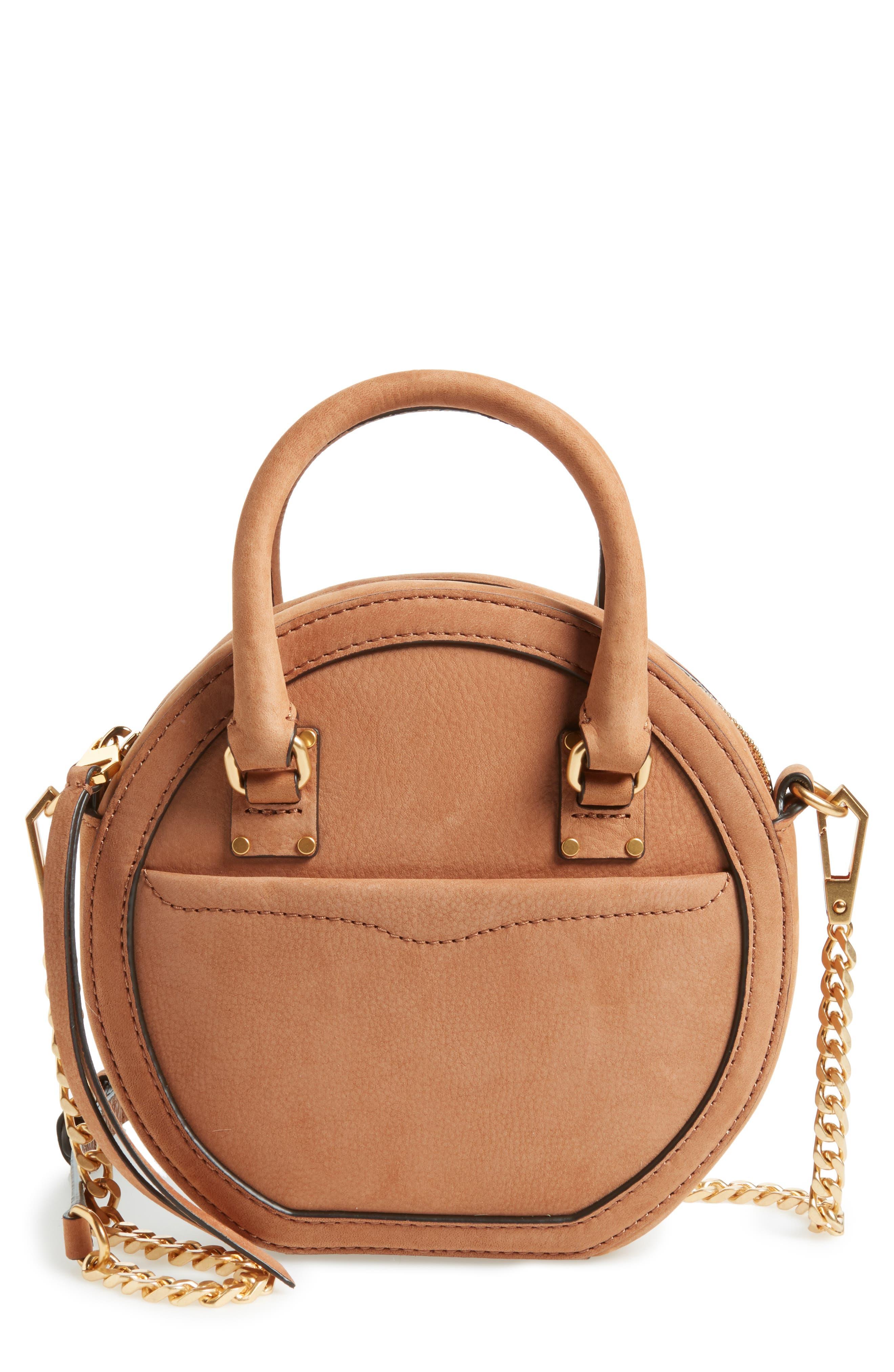 Bree Circle Crossbody Bag,                         Main,                         color, Almond