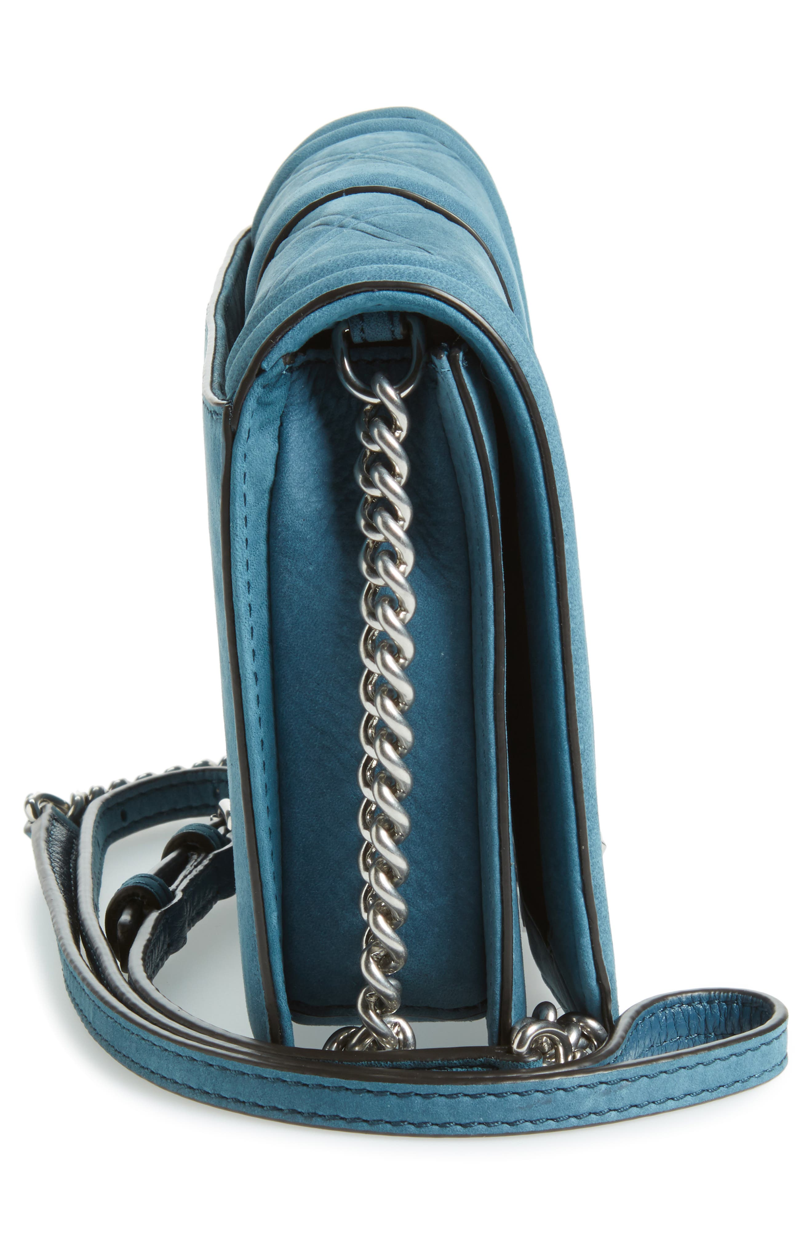Alternate Image 5  - Rebecca Minkoff Small Love Nubuck Leather Crossbody Bag