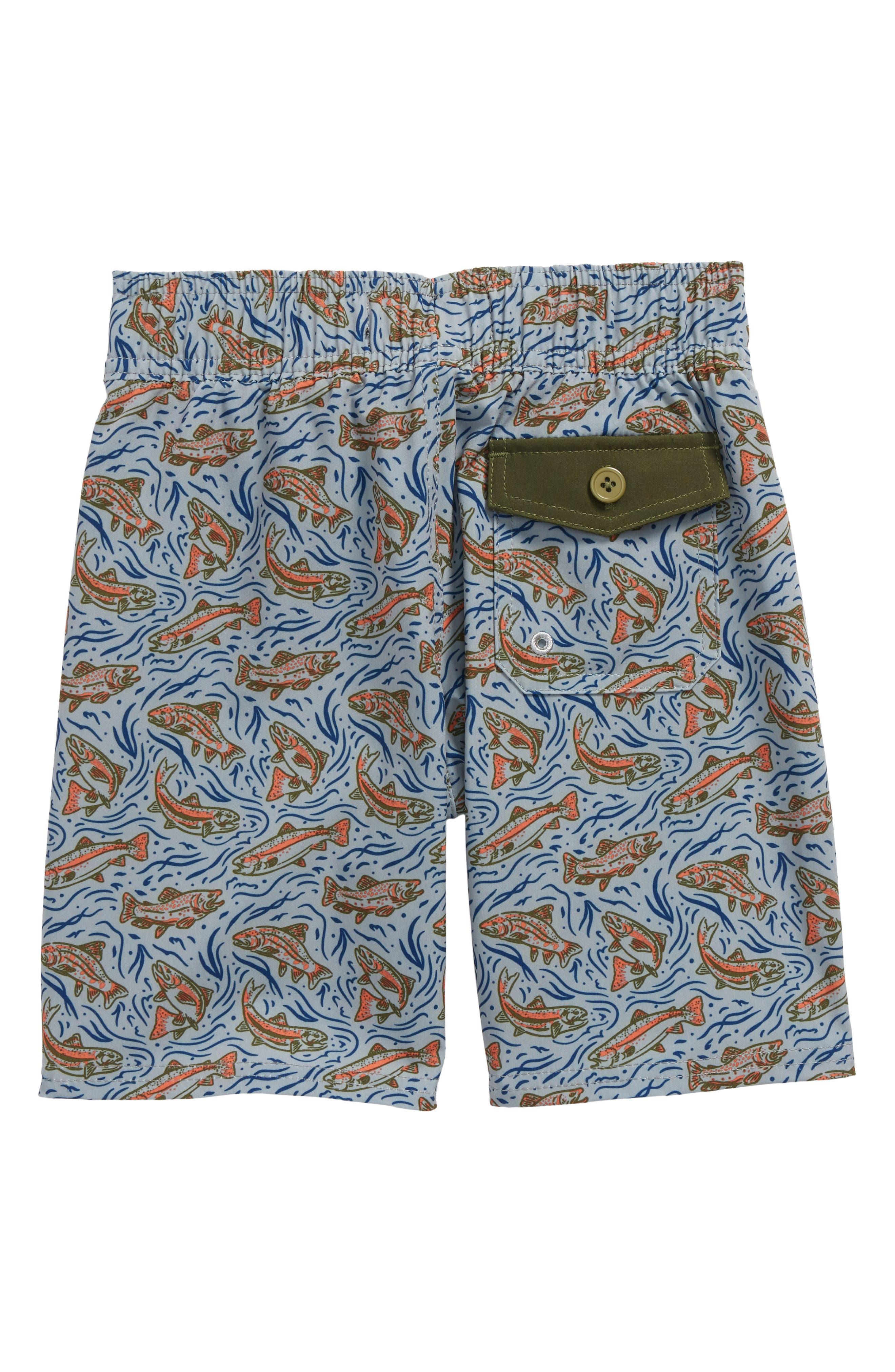 Alternate Image 2  - United By Blue Upstream Board Shorts (Little Boys & Big Boys)