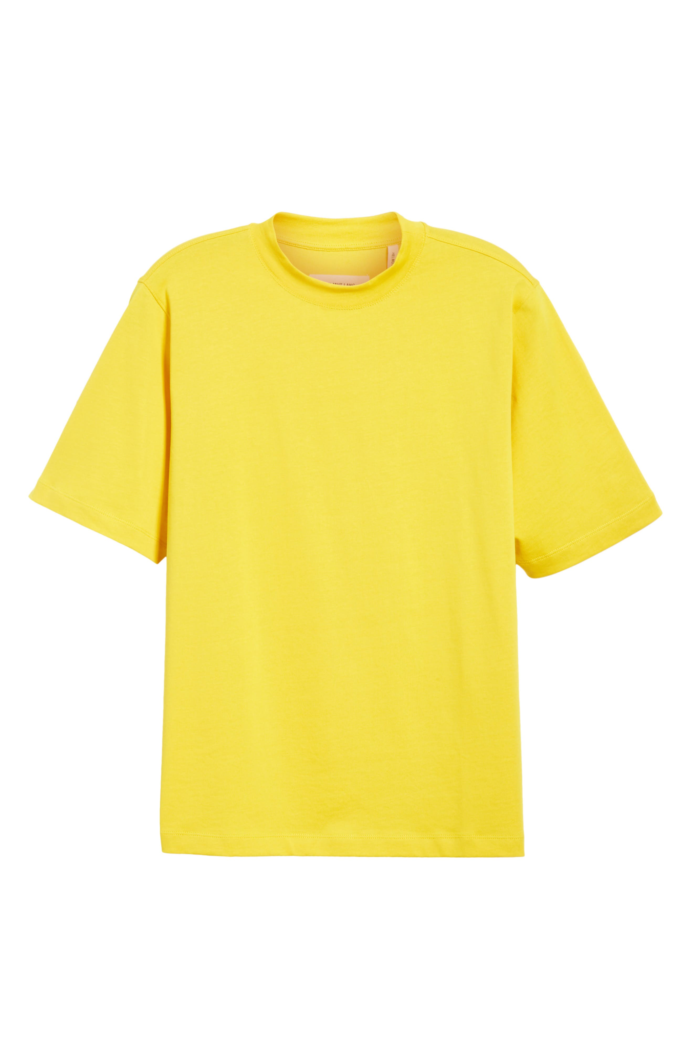Tall T-Shirt,                             Alternate thumbnail 6, color,                             Yellow