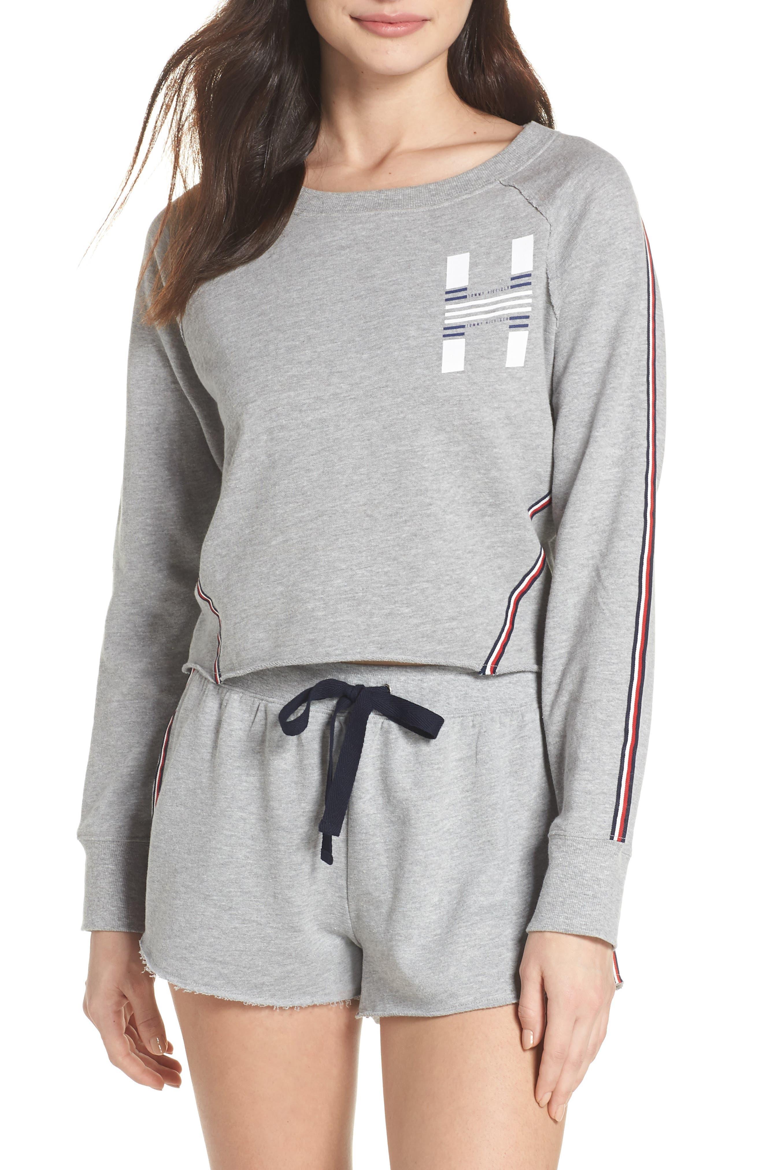 Tommy Hilfiger Crop Lounge Sweatshirt