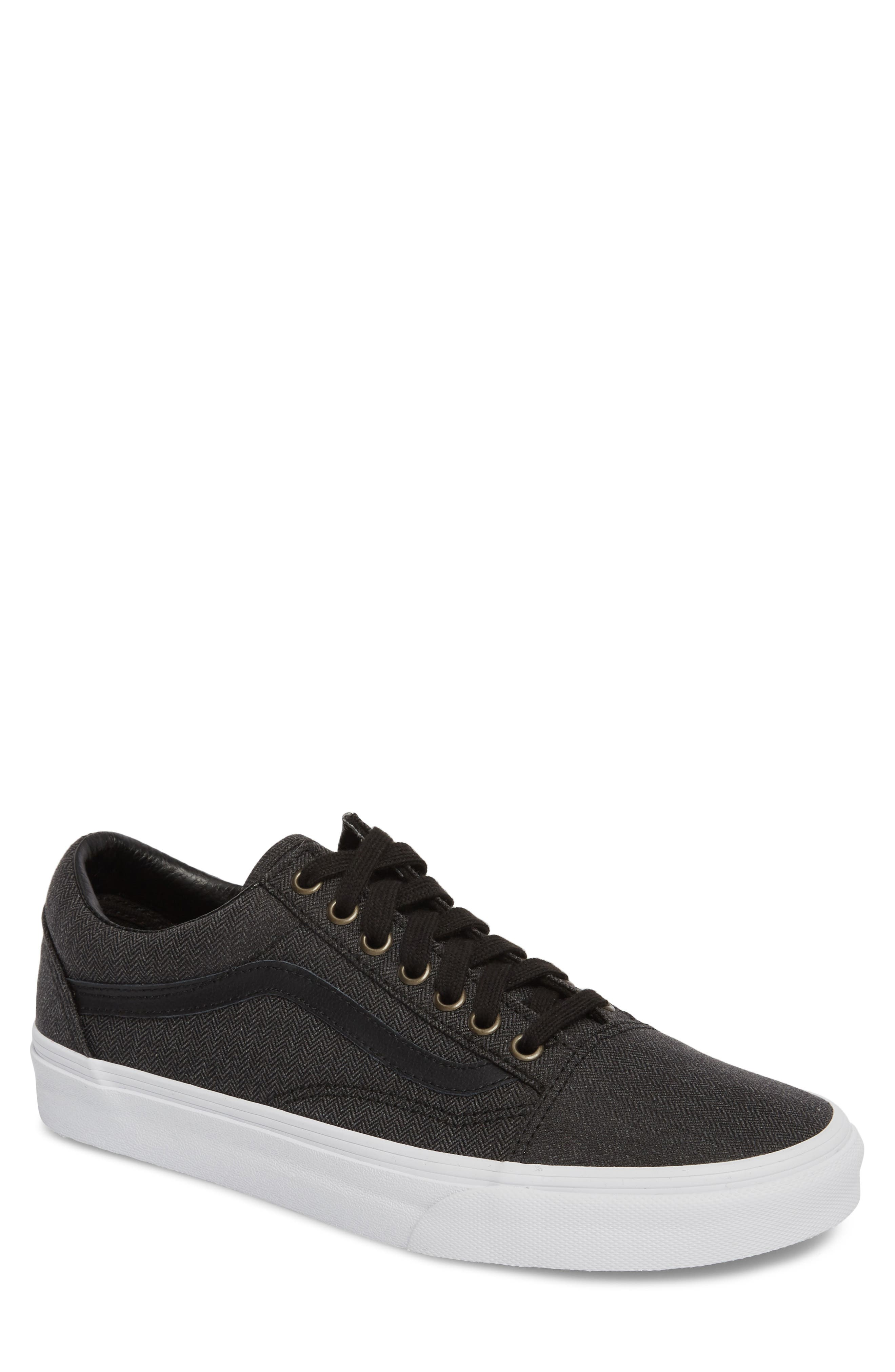 vans old skool black nordstrom