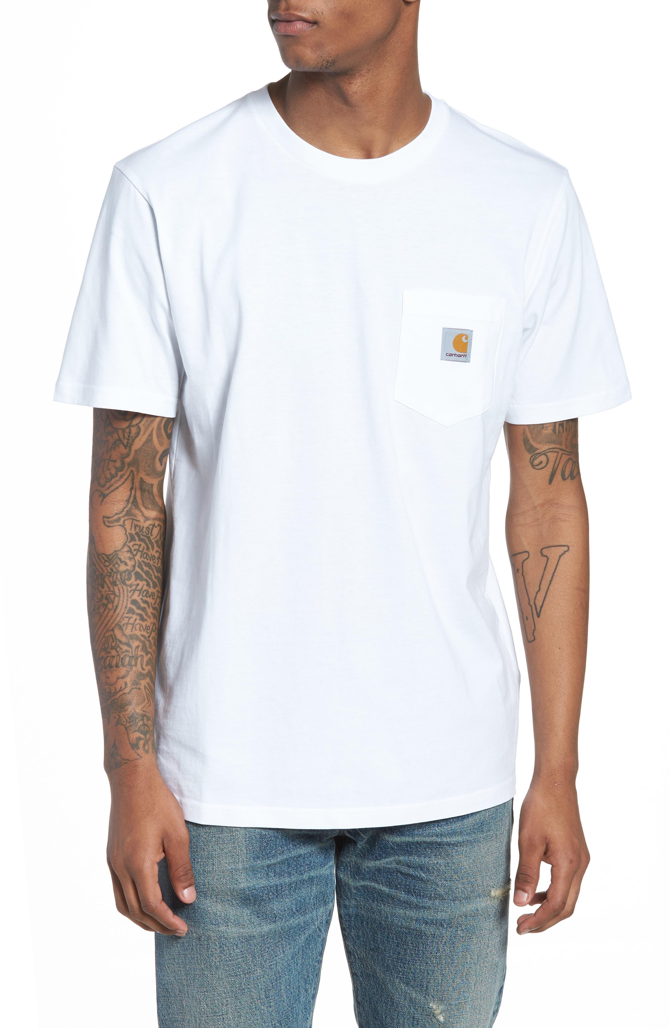 Logo i Carhartt Pocket T Arbete Shirt Progress qBq58t 201c79a1490dc