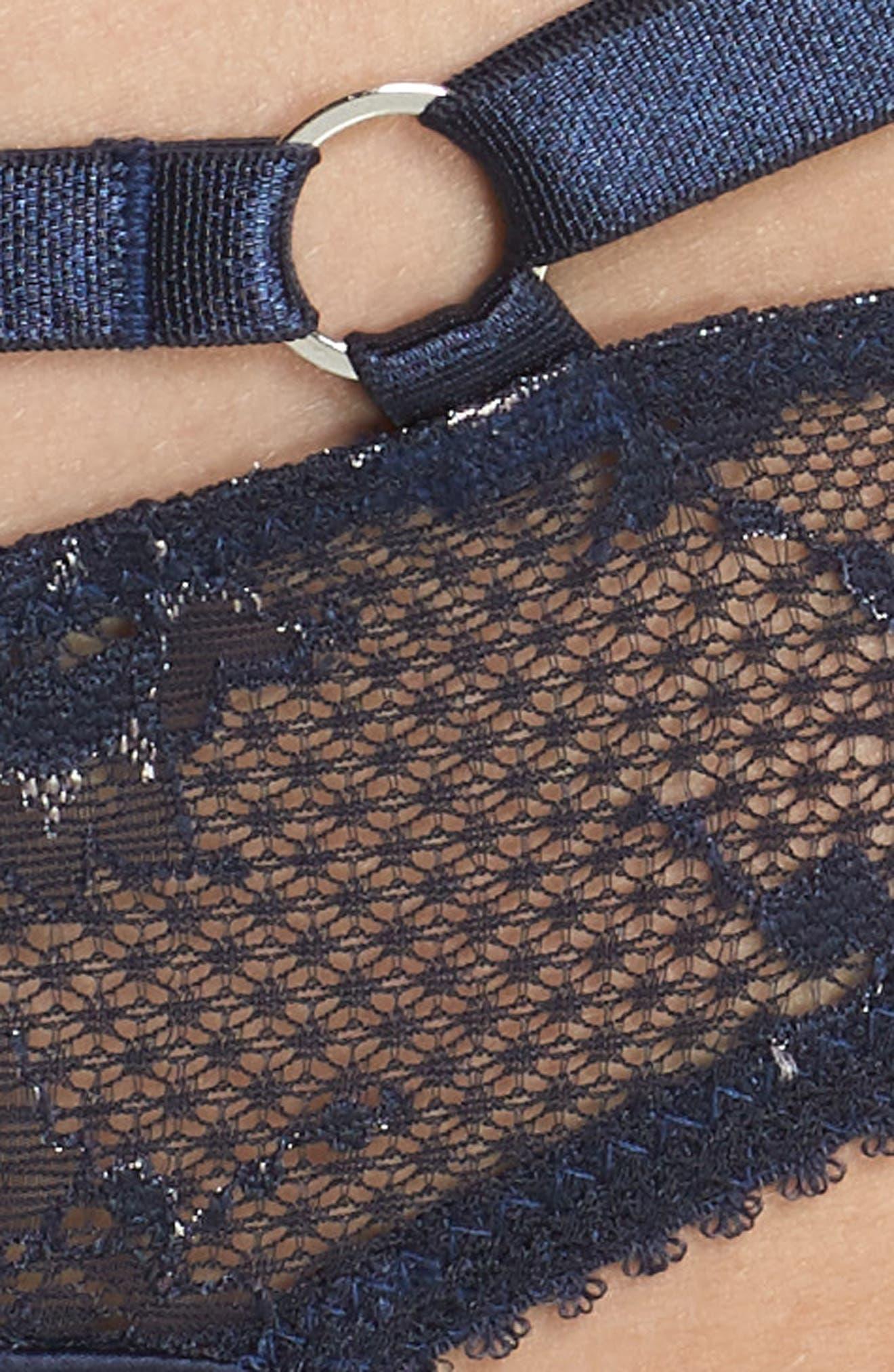 Lace Bikini,                             Alternate thumbnail 9, color,                             Navy