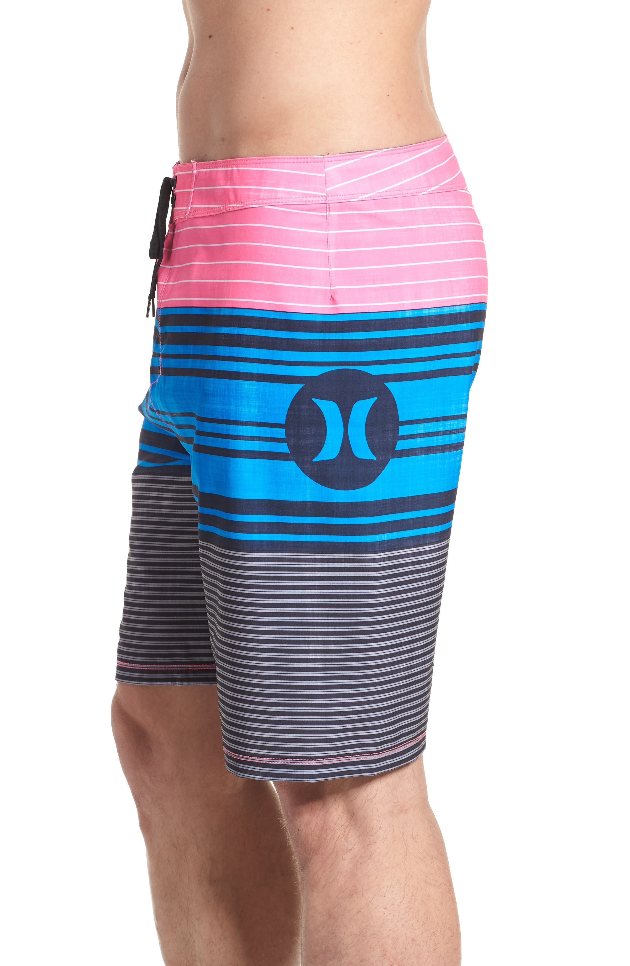 Strands Board Shorts,                             Alternate thumbnail 3, color,                             Photo Blue