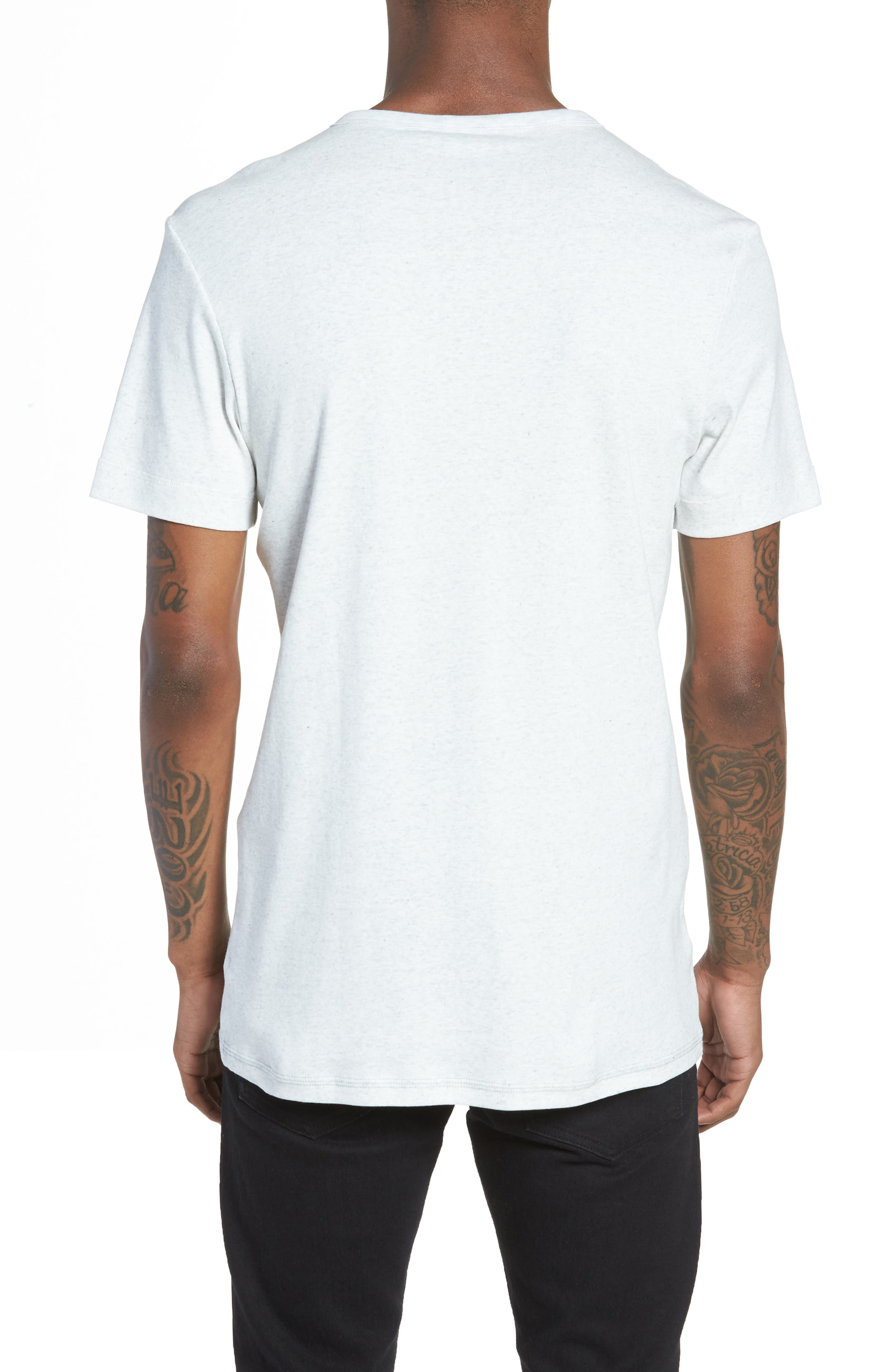 Correct Unstand T-Shirt,                             Alternate thumbnail 2, color,                             White Heather