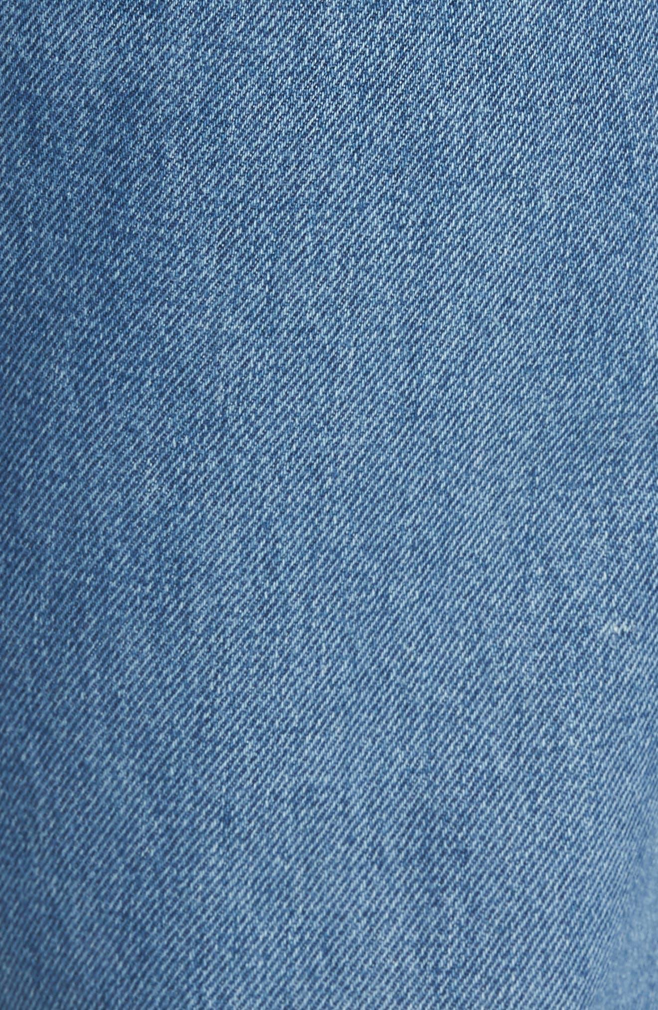 Alternate Image 5  - Levi's® 501™ Straight Leg Jeans (Bunker Indigo)