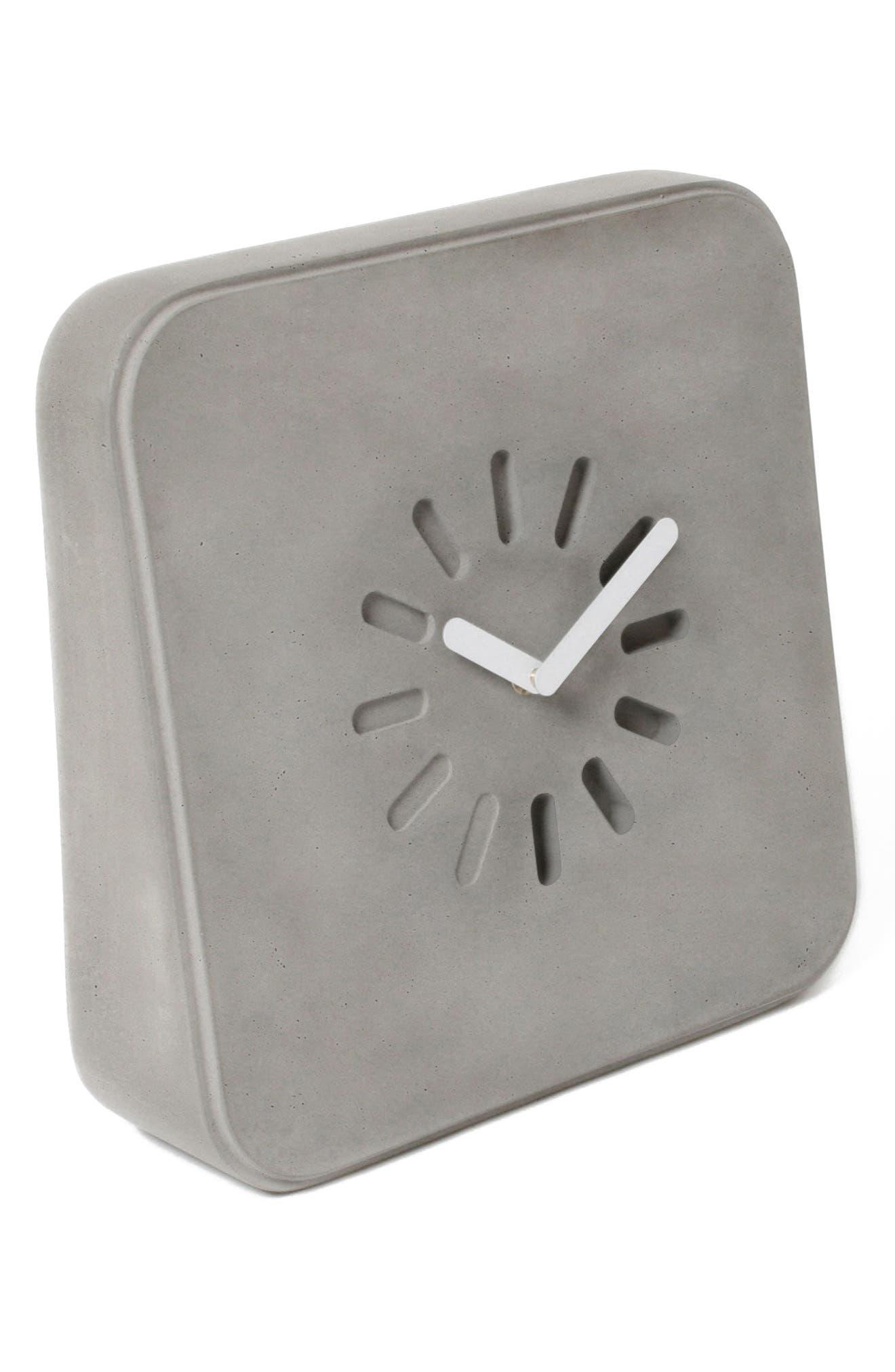 Lyon Béton Life in Progress Clock,                             Alternate thumbnail 2, color,                             Cement