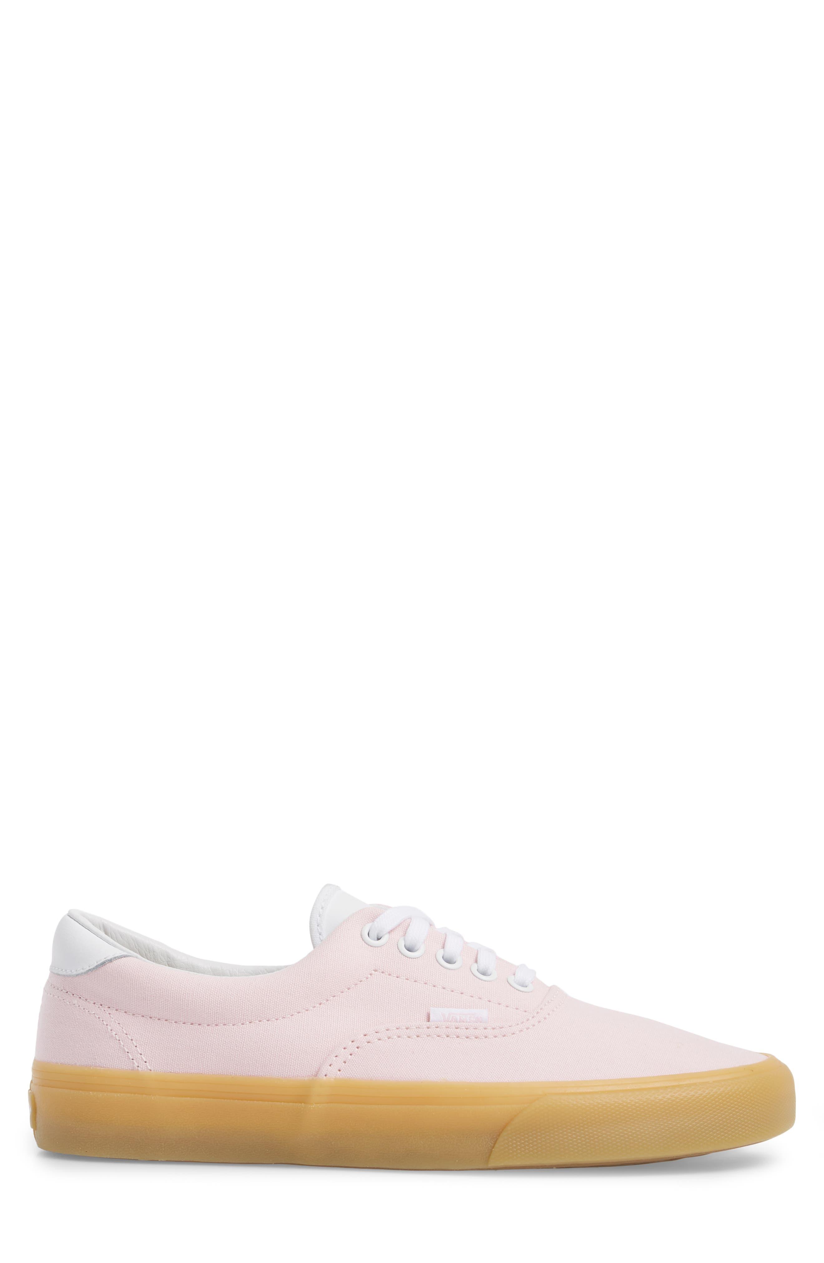 Era 59 Gum Sneaker,                             Alternate thumbnail 3, color,                             Chalk Pink