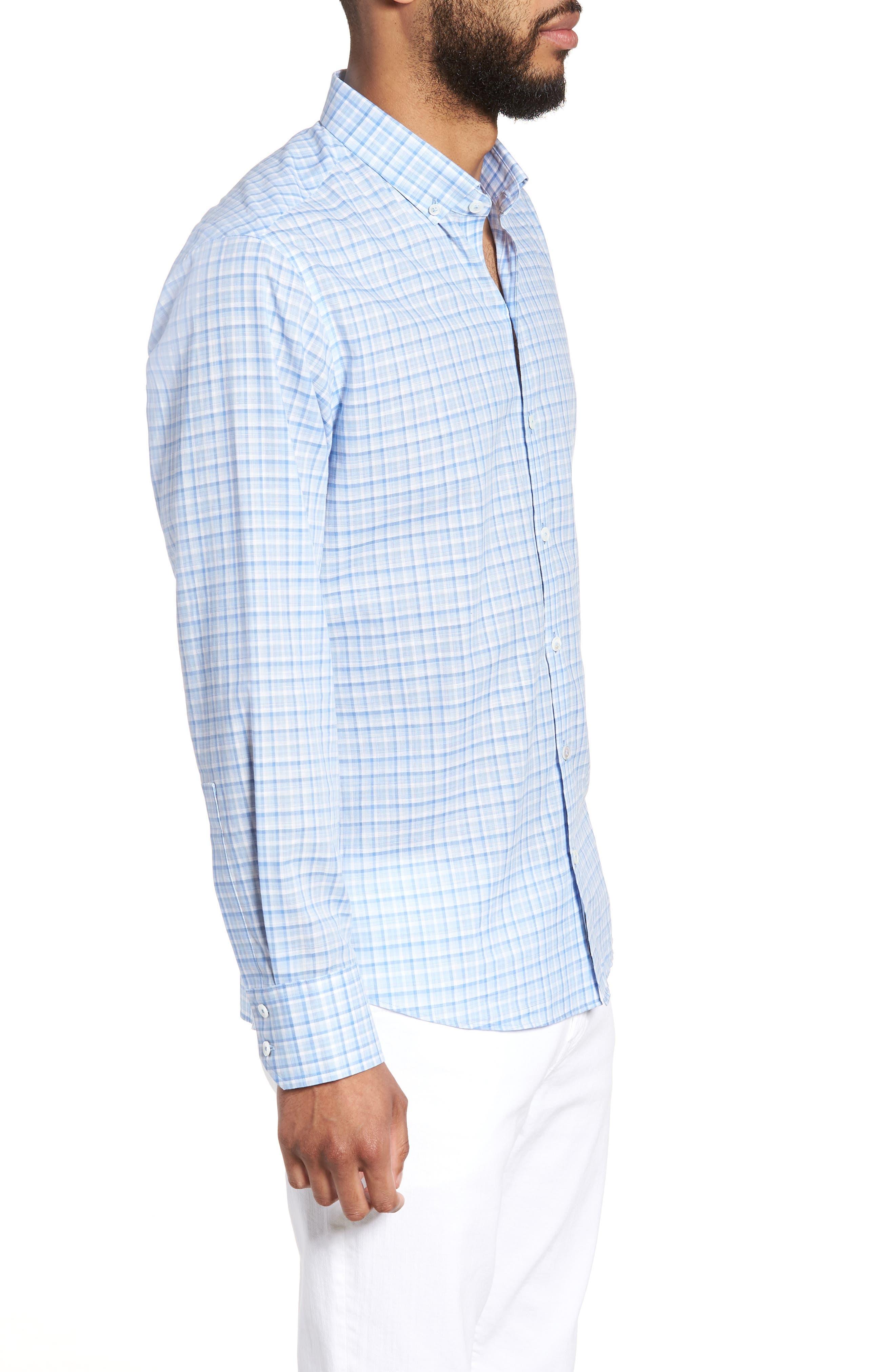 Suresh Regular Fit Sport Shirt,                             Alternate thumbnail 2, color,                             Sky