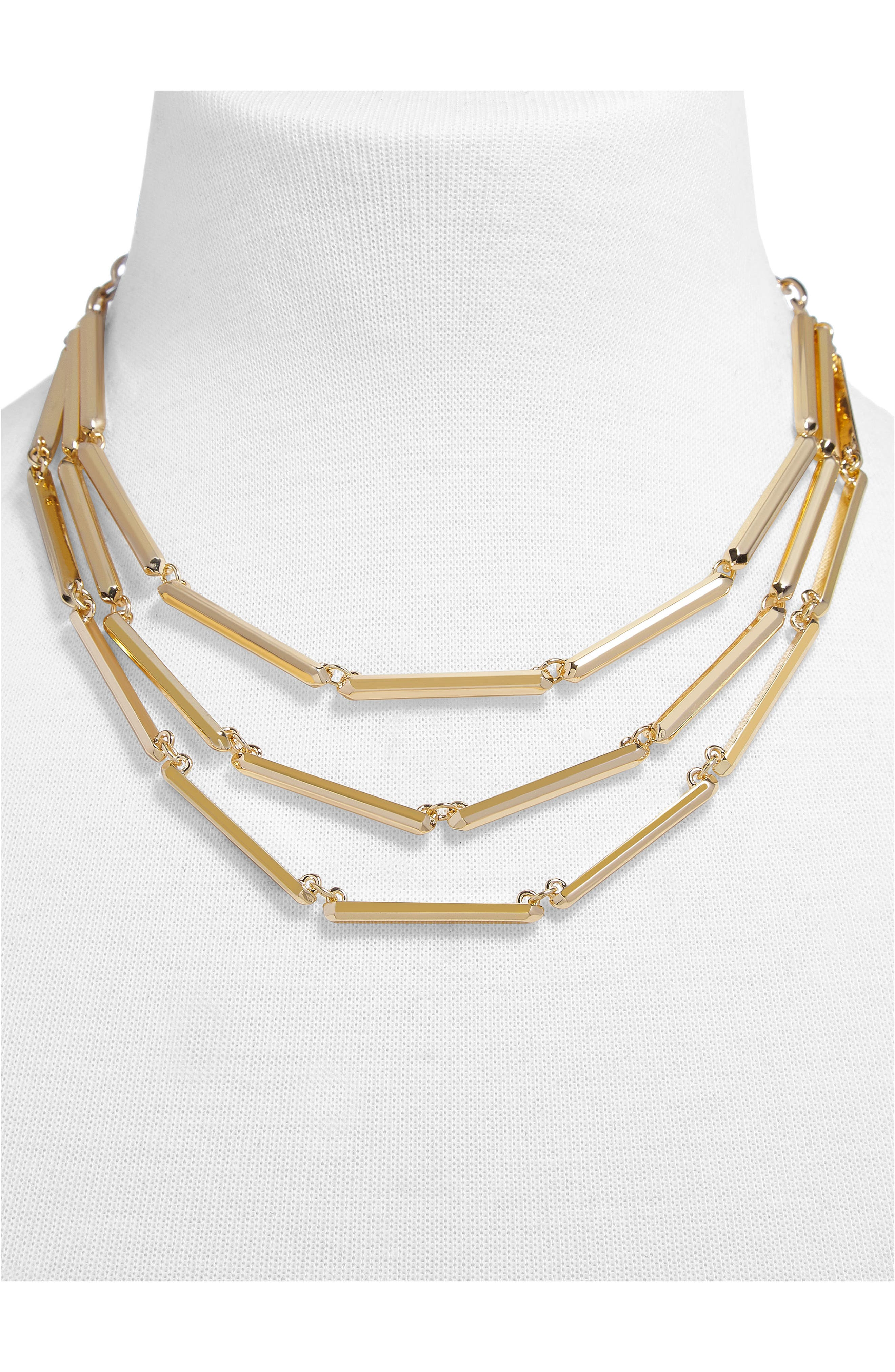 Payla Multistrand Necklace,                             Alternate thumbnail 2, color,                             Gold