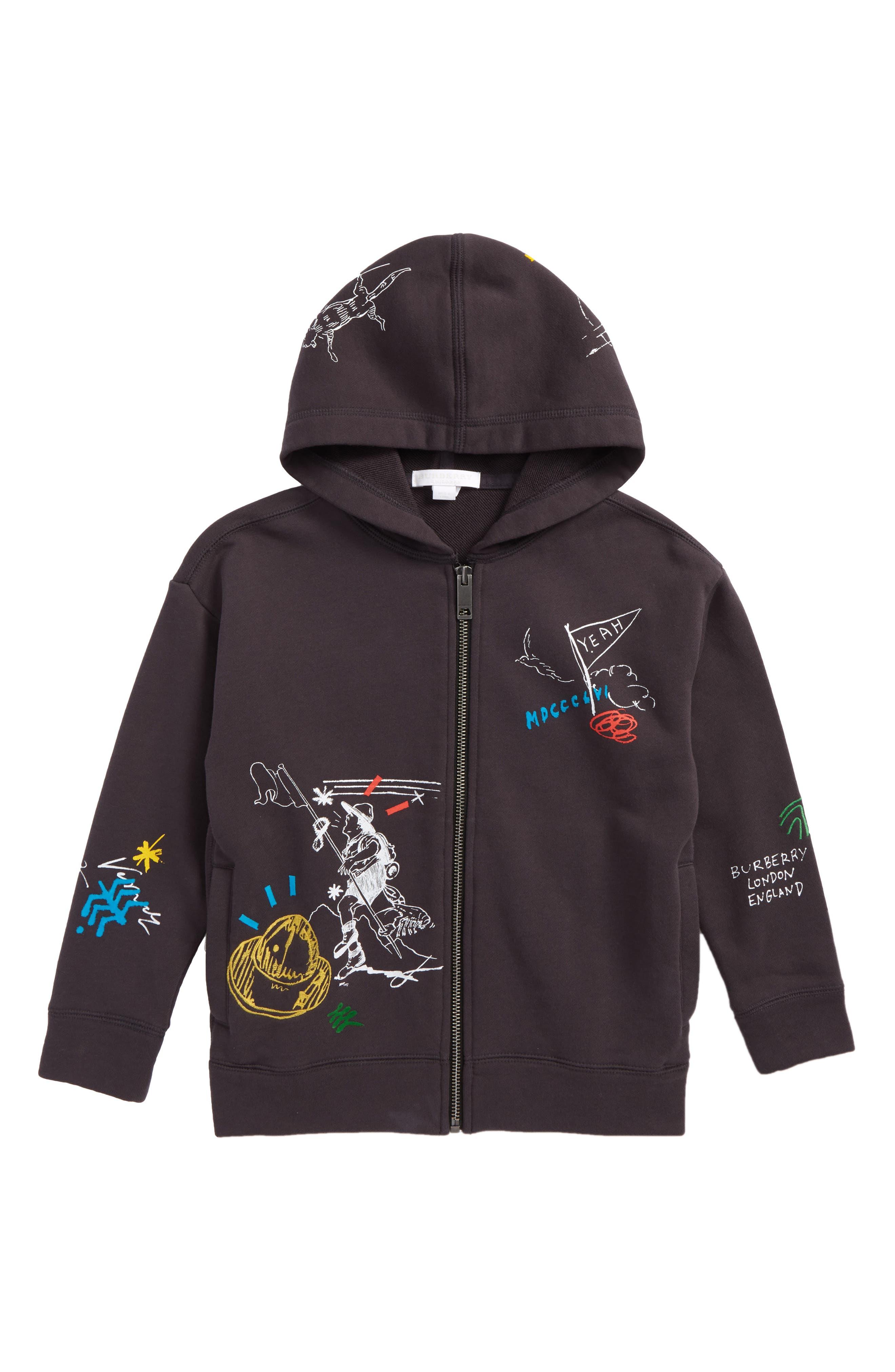 burberry hoodie kids 2016