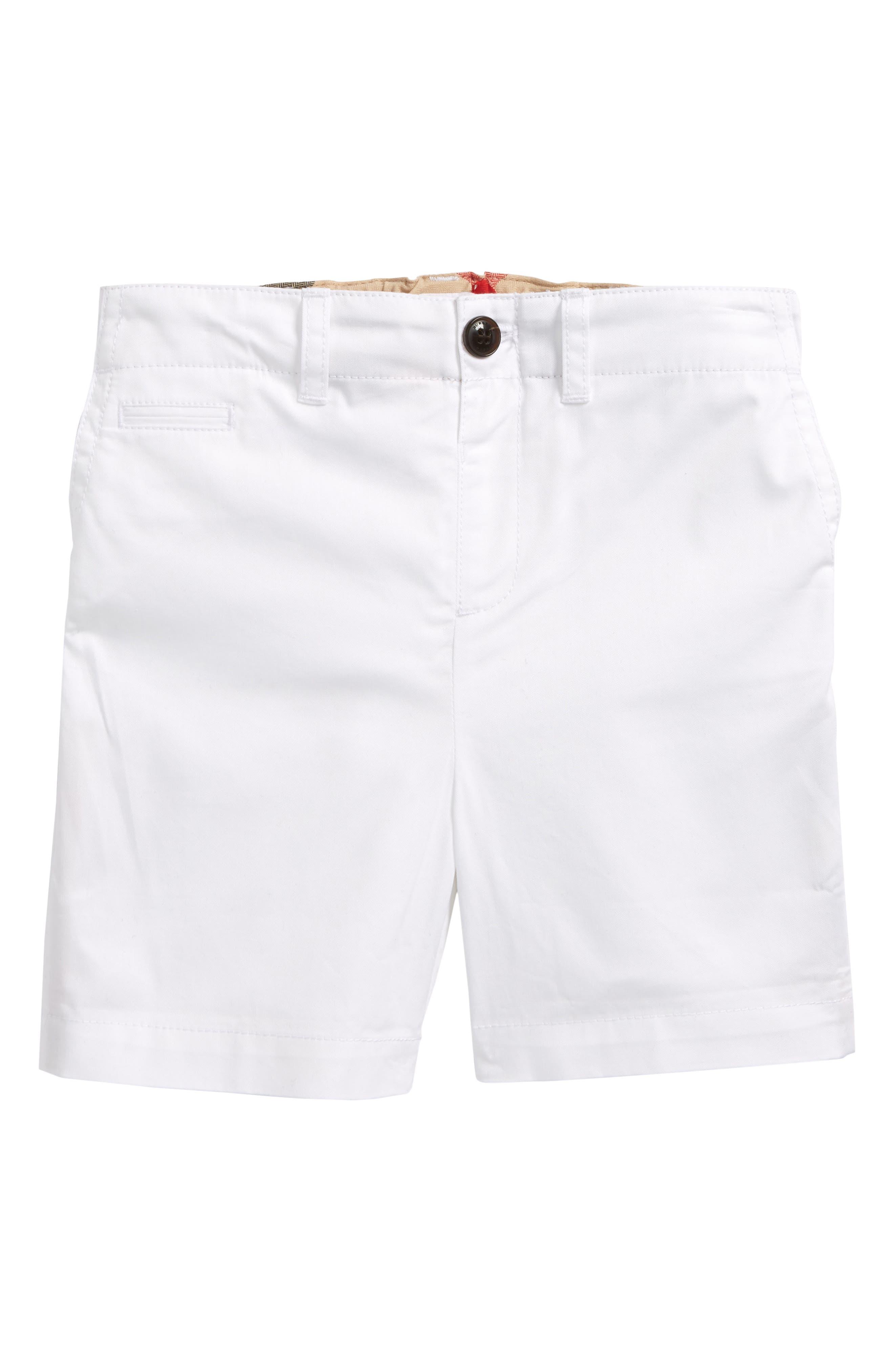 Burberry Tina Cotton Twill Shorts (Toddler Girls)
