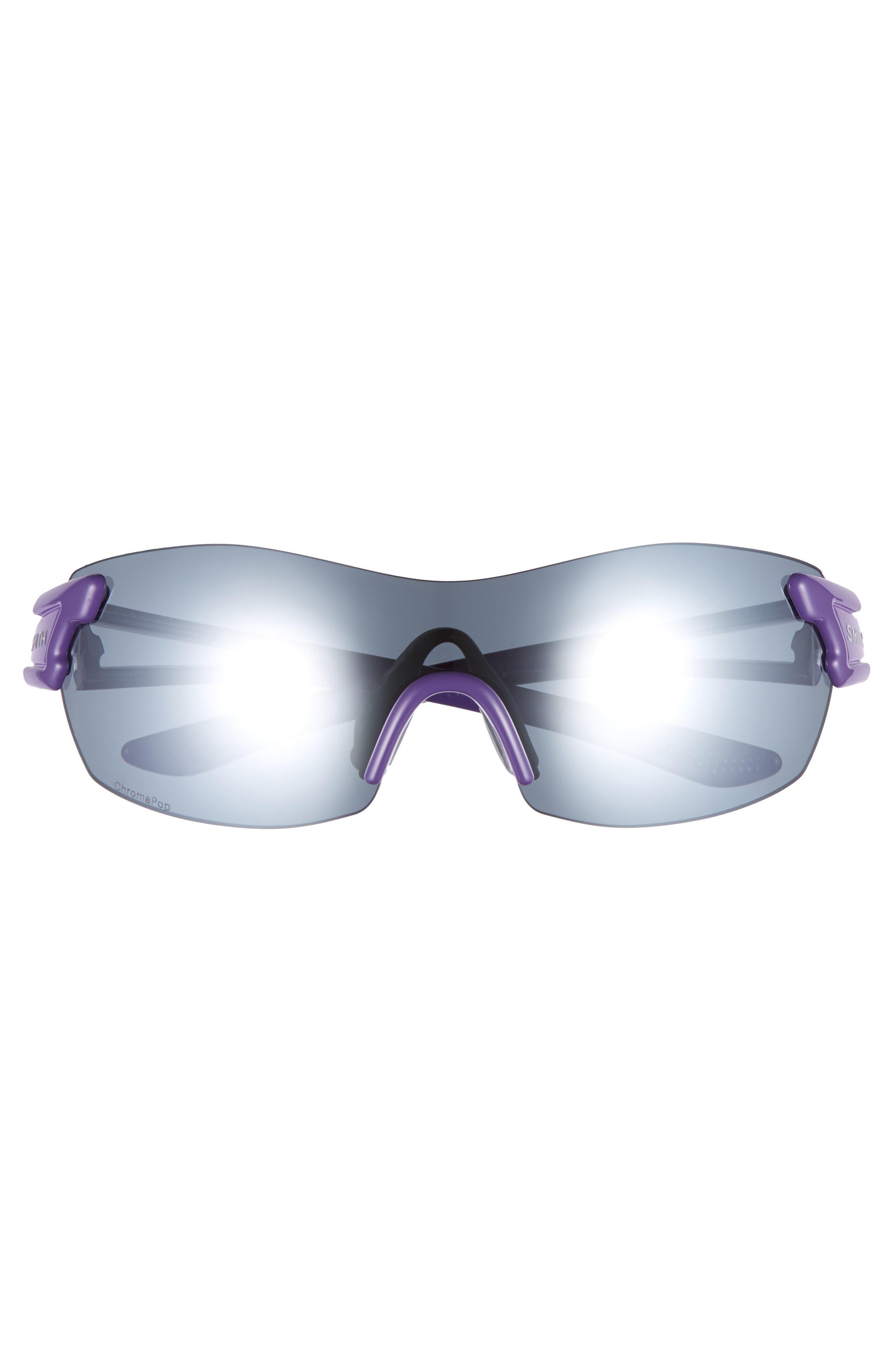 PivLock<sup>™</sup> Asana 150mm ChromaPop Polarized Sunglasses,                             Alternate thumbnail 3, color,                             Violet