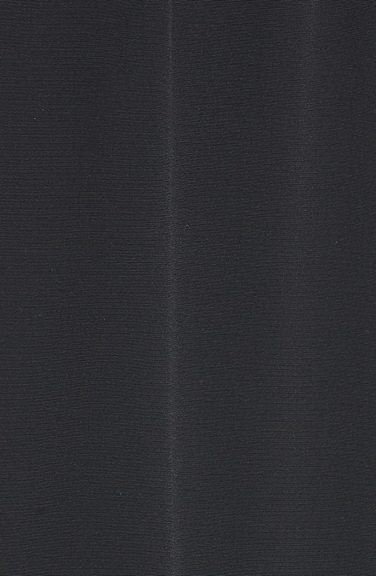 Wide Leg Crop Jumpsuit,                             Alternate thumbnail 6, color,                             Black
