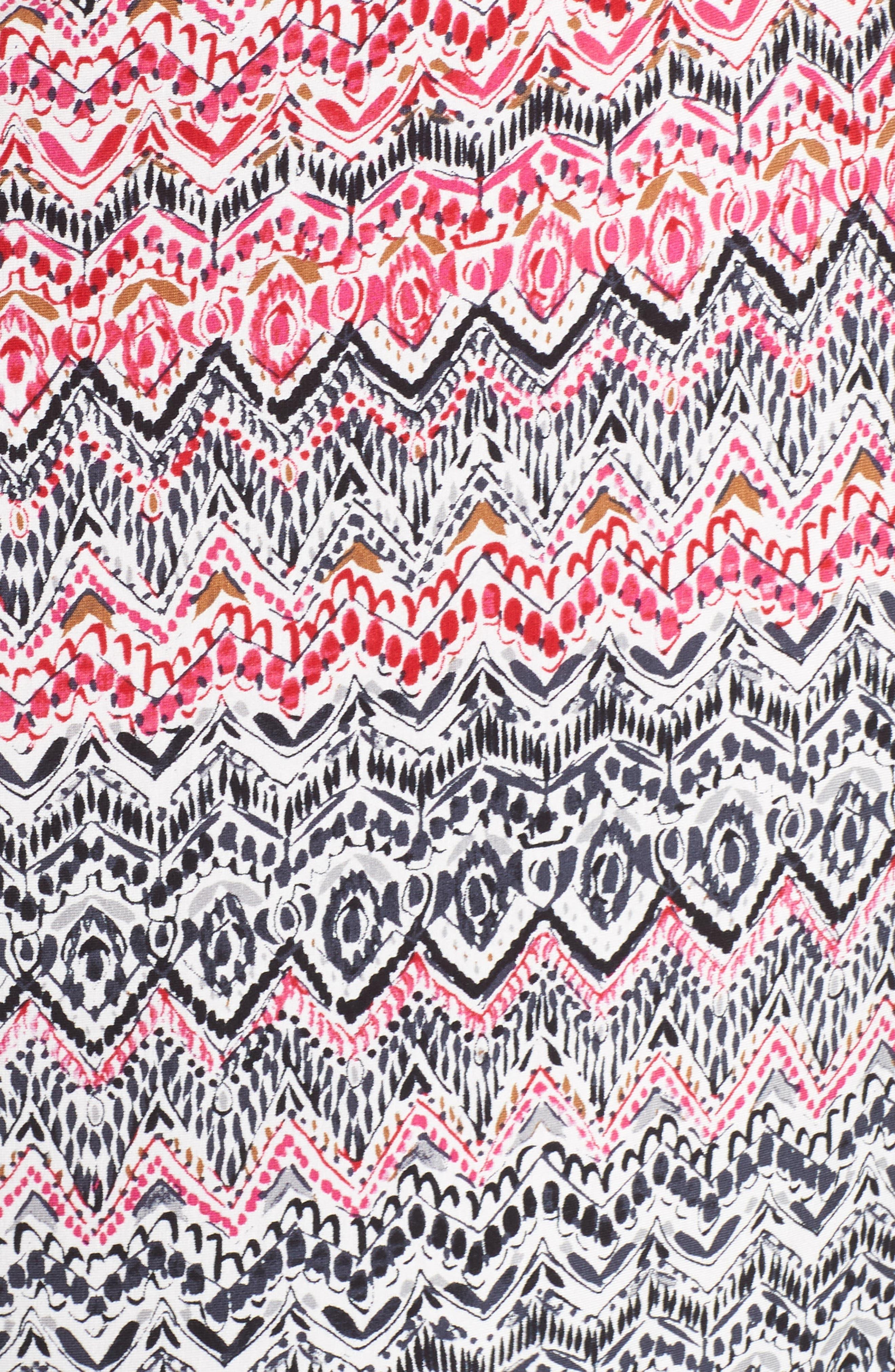 Spiced Up Twist Sheath Dress,                             Alternate thumbnail 5, color,                             Multi