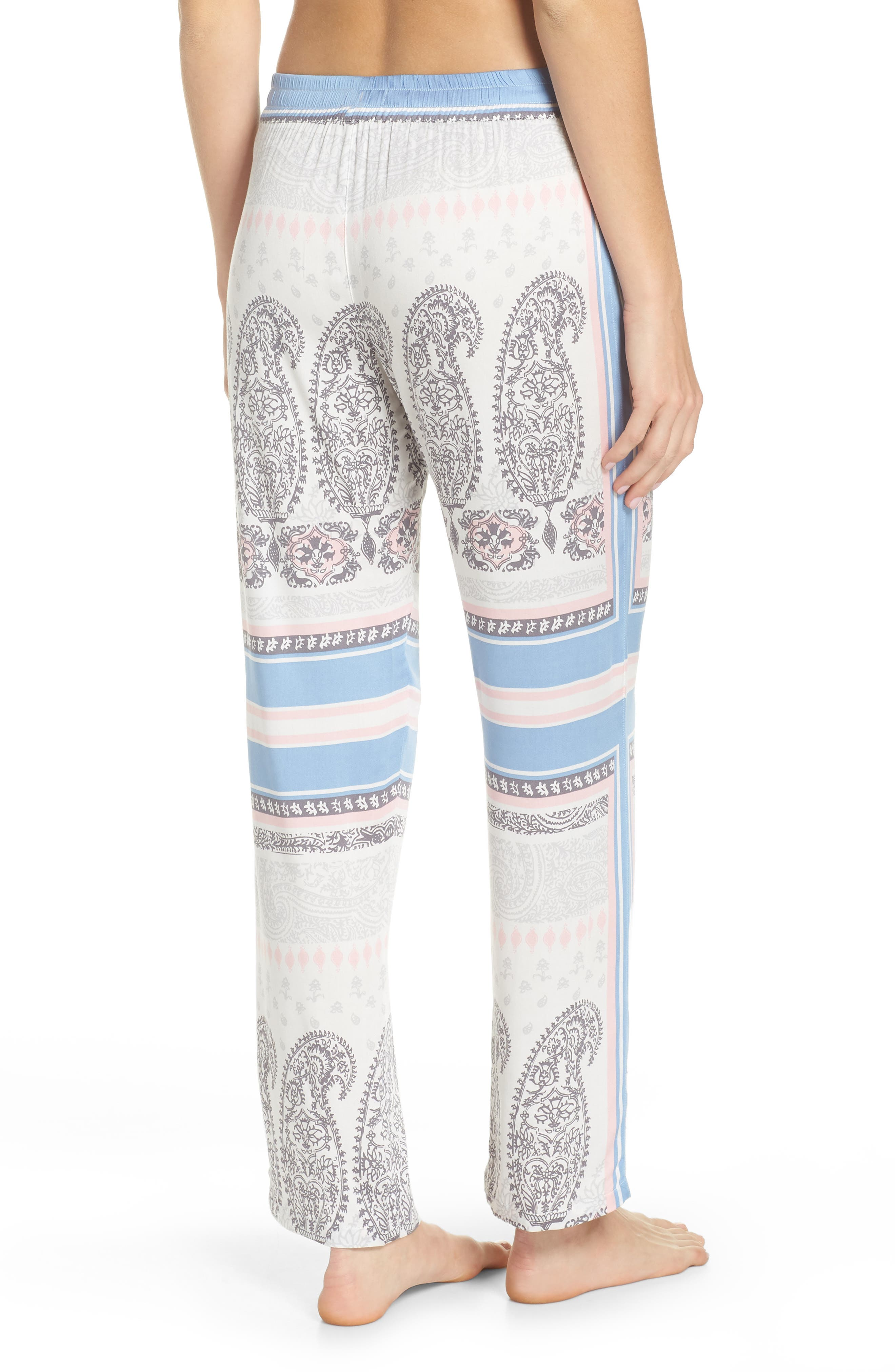 Pajama Pants,                             Alternate thumbnail 2, color,                             Natural