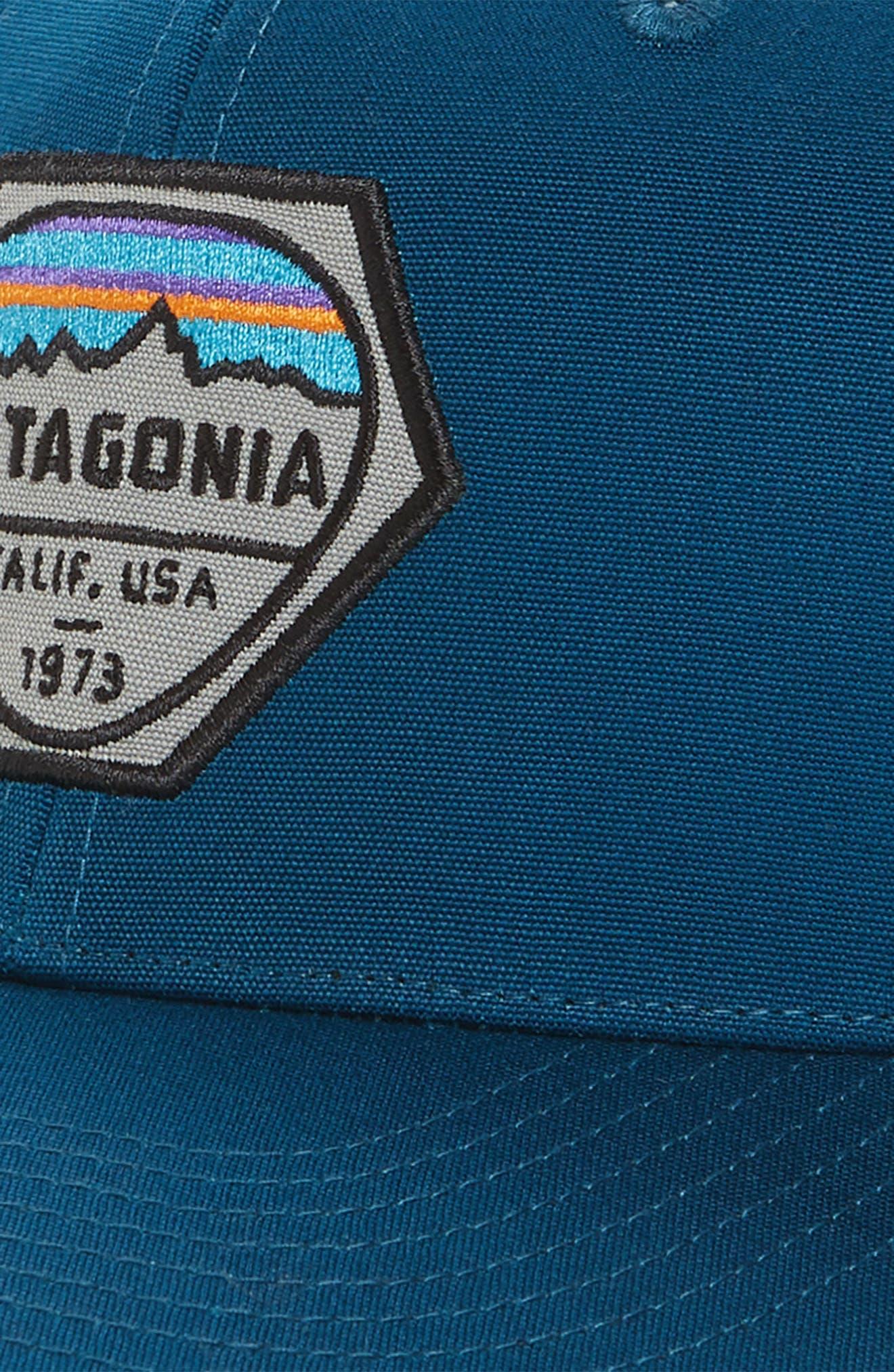 Alternate Image 2  - Patagonia Fitz Roy Hex Trucker Cap