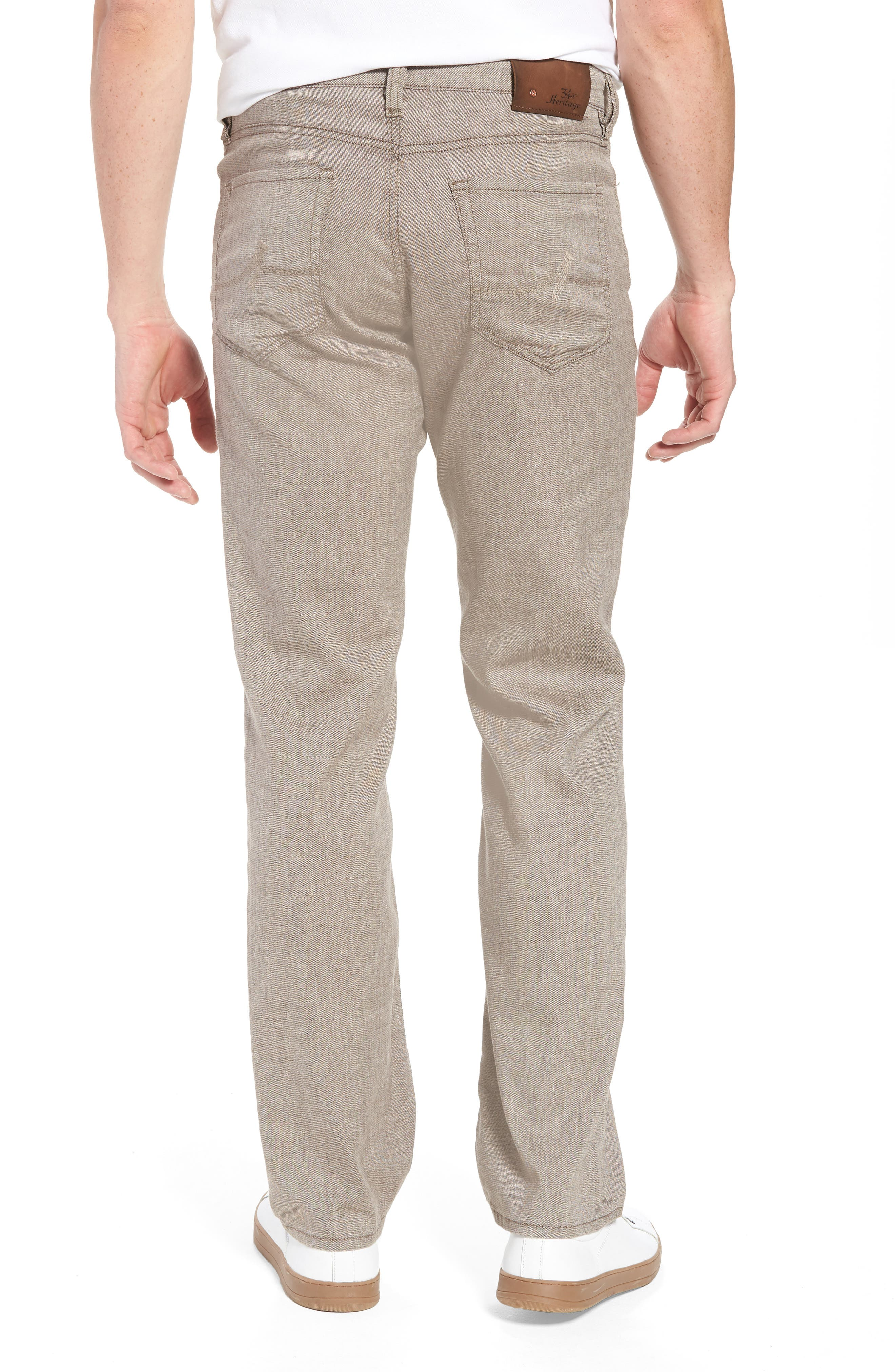 Charisma Relaxed Fit Pants,                             Alternate thumbnail 2, color,                             Latte Textured